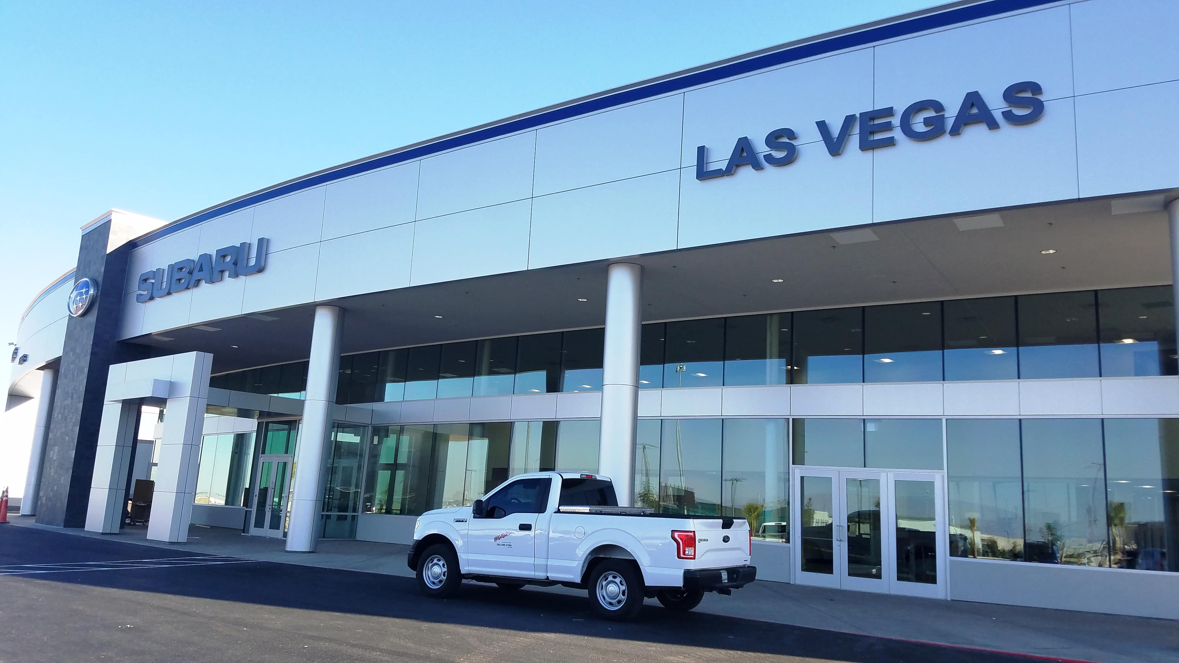 historic findlay dealership subaru of las vegas has moved to new plex in southwest valley