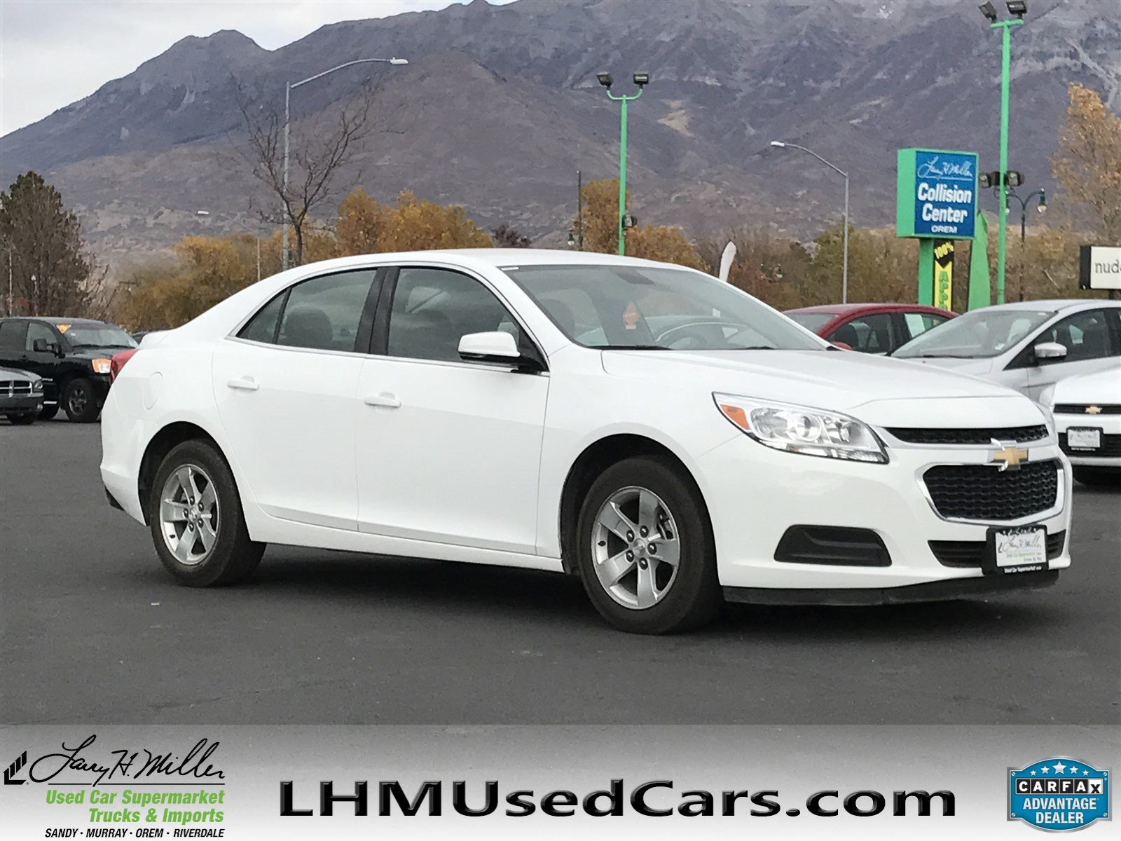 pre owned 2016 chevrolet malibu limited lt 4dr car in orem r3140 1g11c5sa4gf