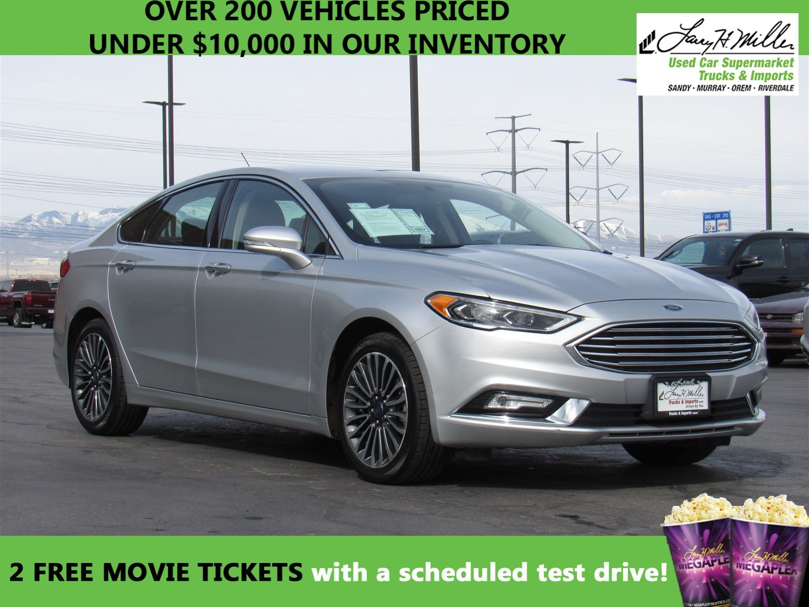 ford used at larry h miller used car supermarket in riverdale