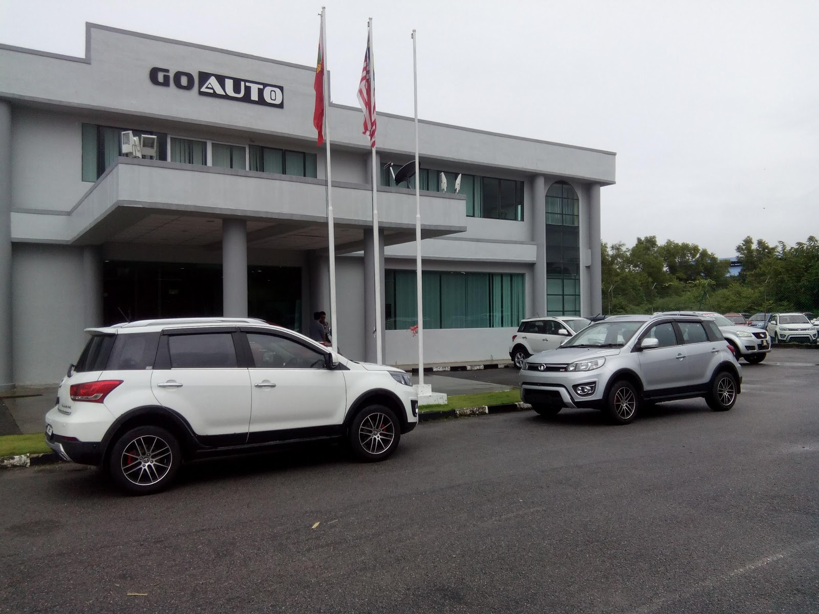 a while ago i had a chance to visit the go auto assembly plant in gurun kedah go auto is currently distributors and assemblers for the great wall motors