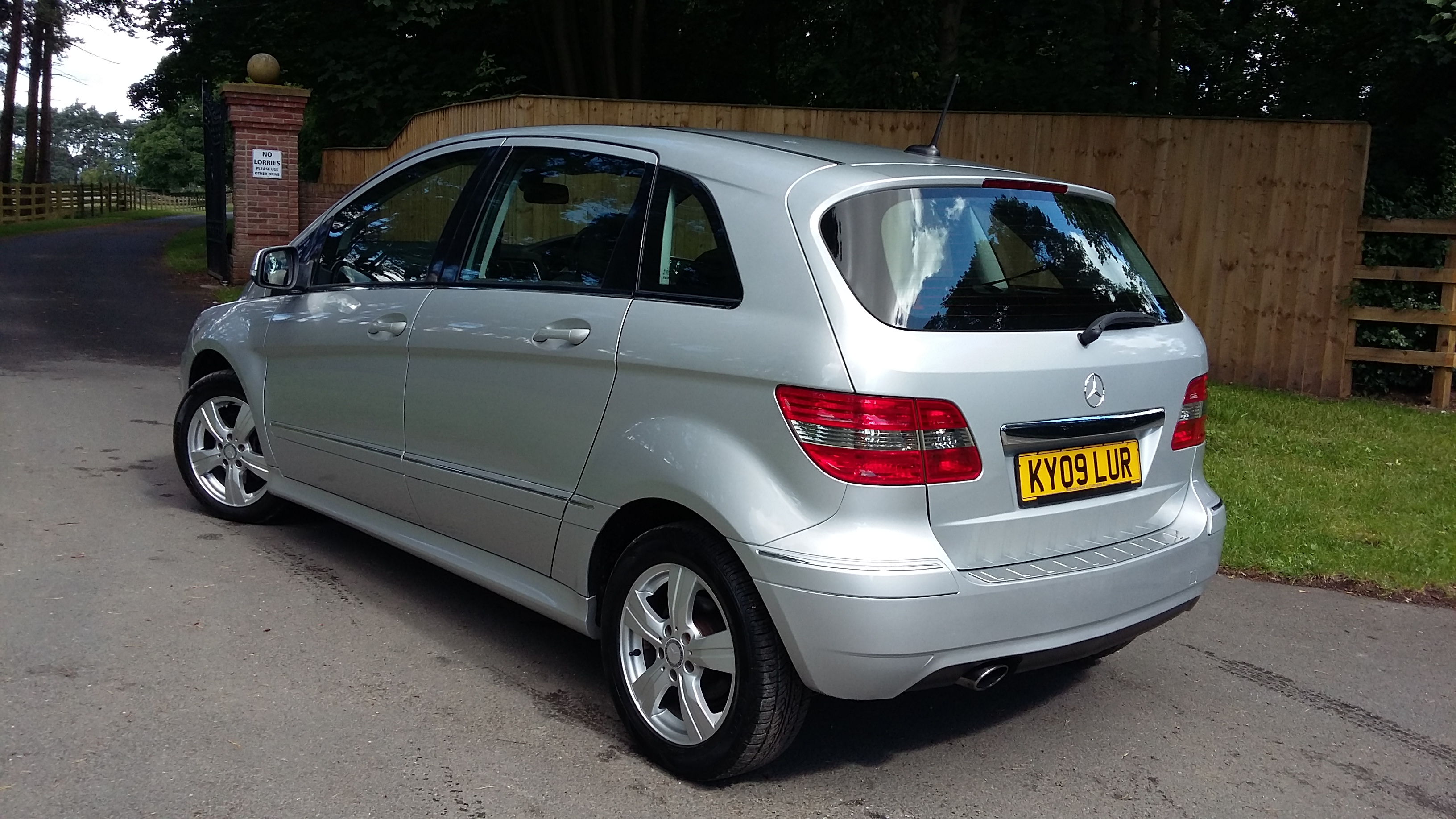 low mileage mercedes b180 sel auto for sale by woodlands cars 5