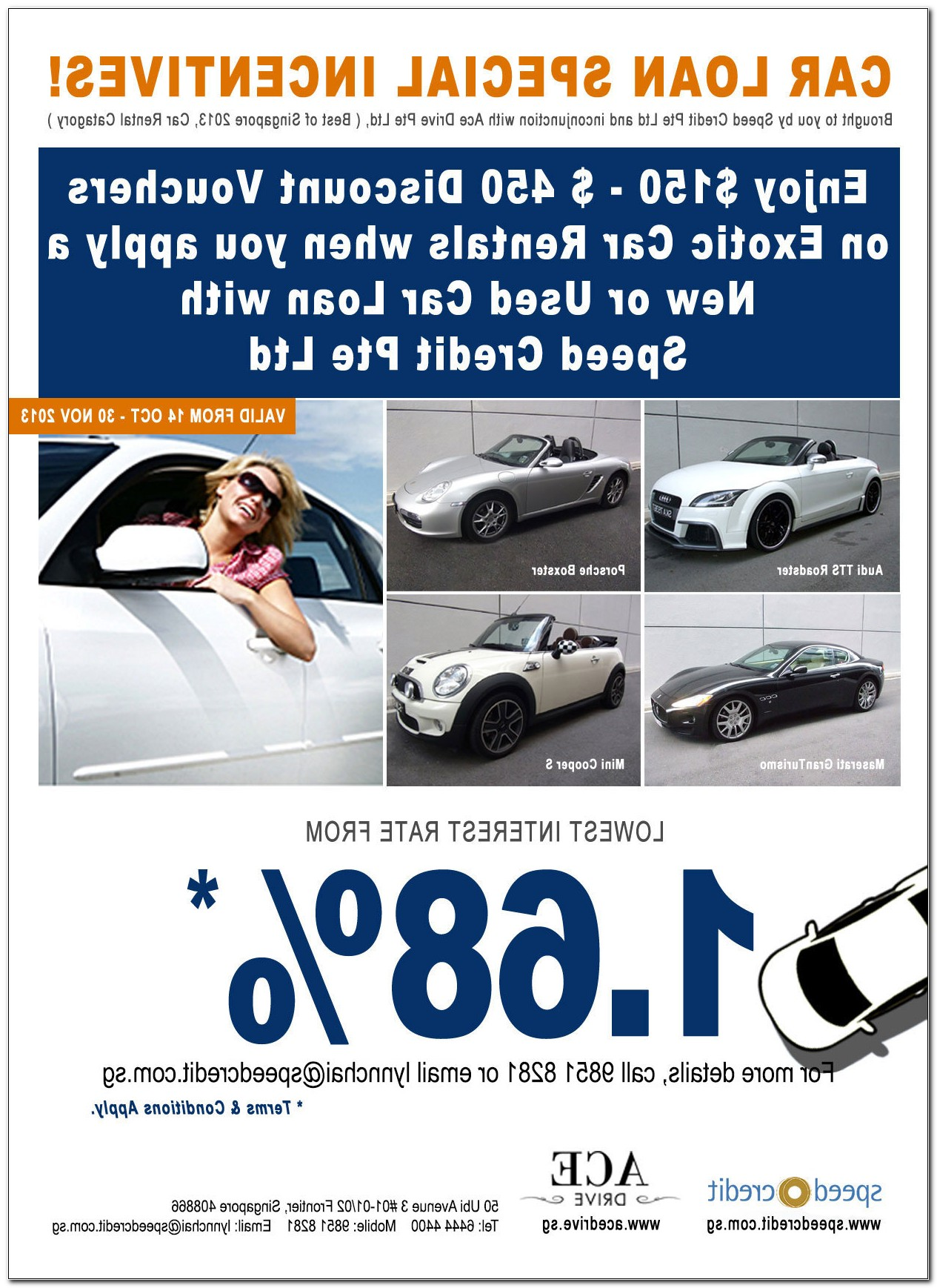 lowest used car loan rates