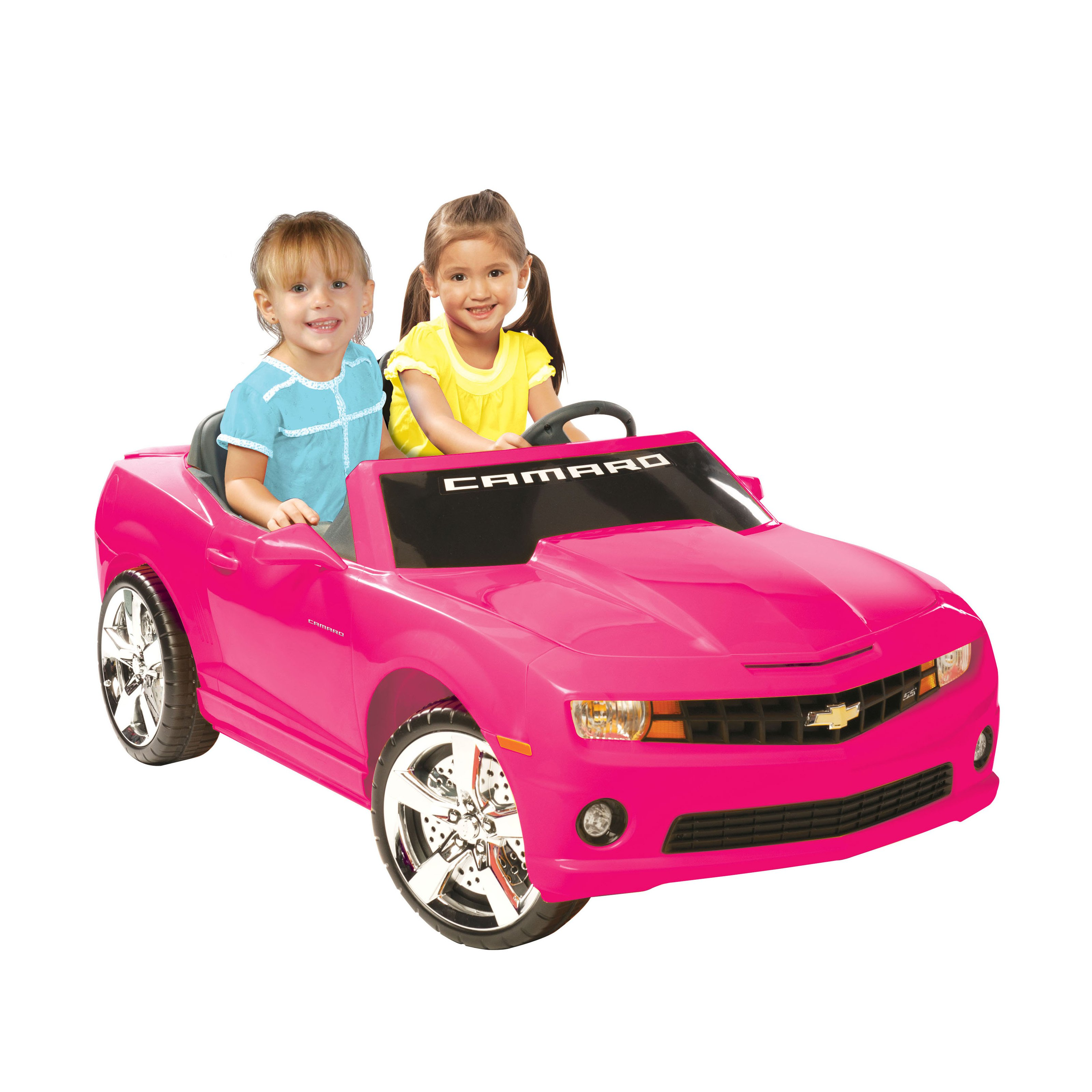 Pink Kids Car Fresh Kid Motorz Chevrolet Camaro Battery Powered Riding toy Pink
