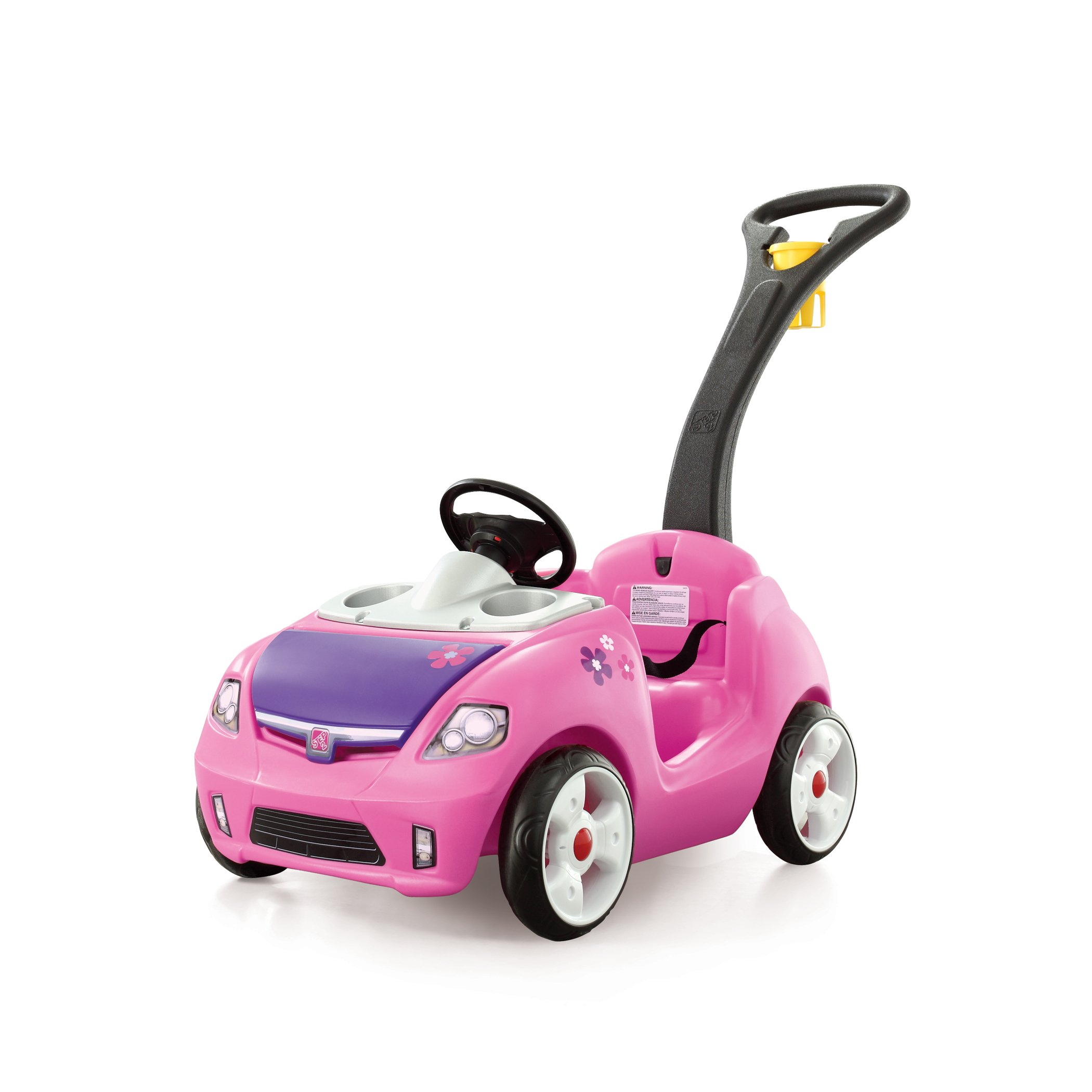 step2 pink whisper ride buggy car toy t girl automotive kid baby walker child
