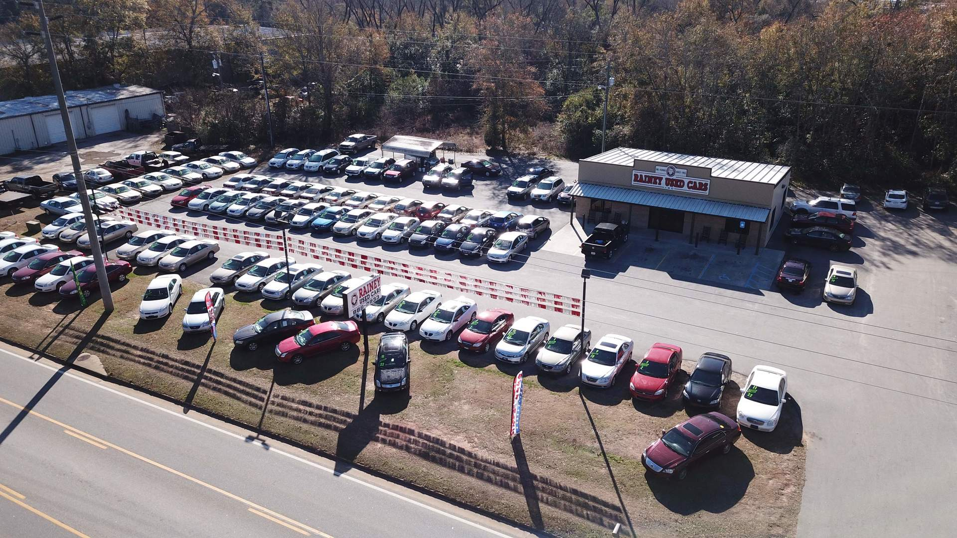 albany lot aerial