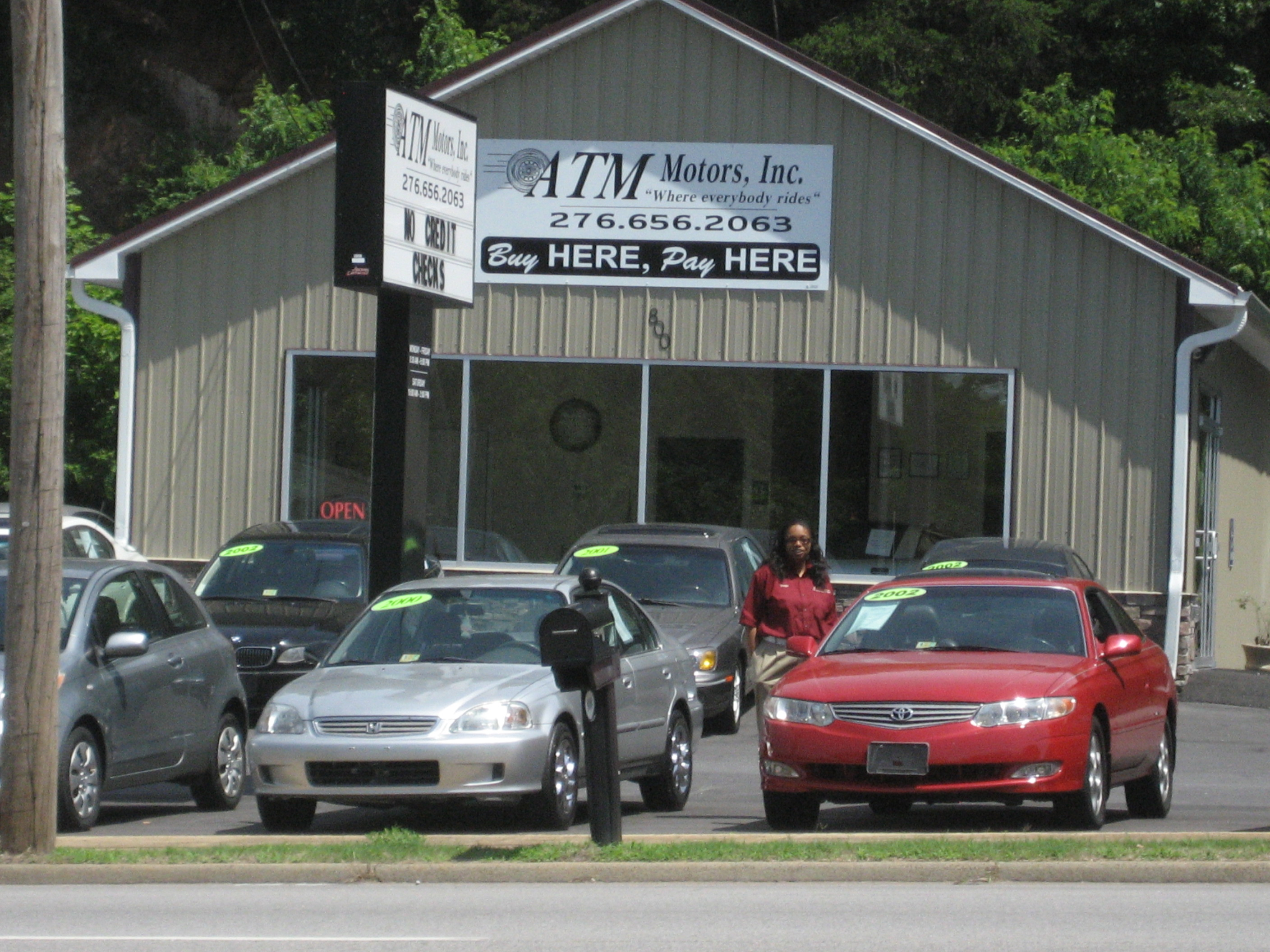 atm motors inc is a minority owned used car dealership