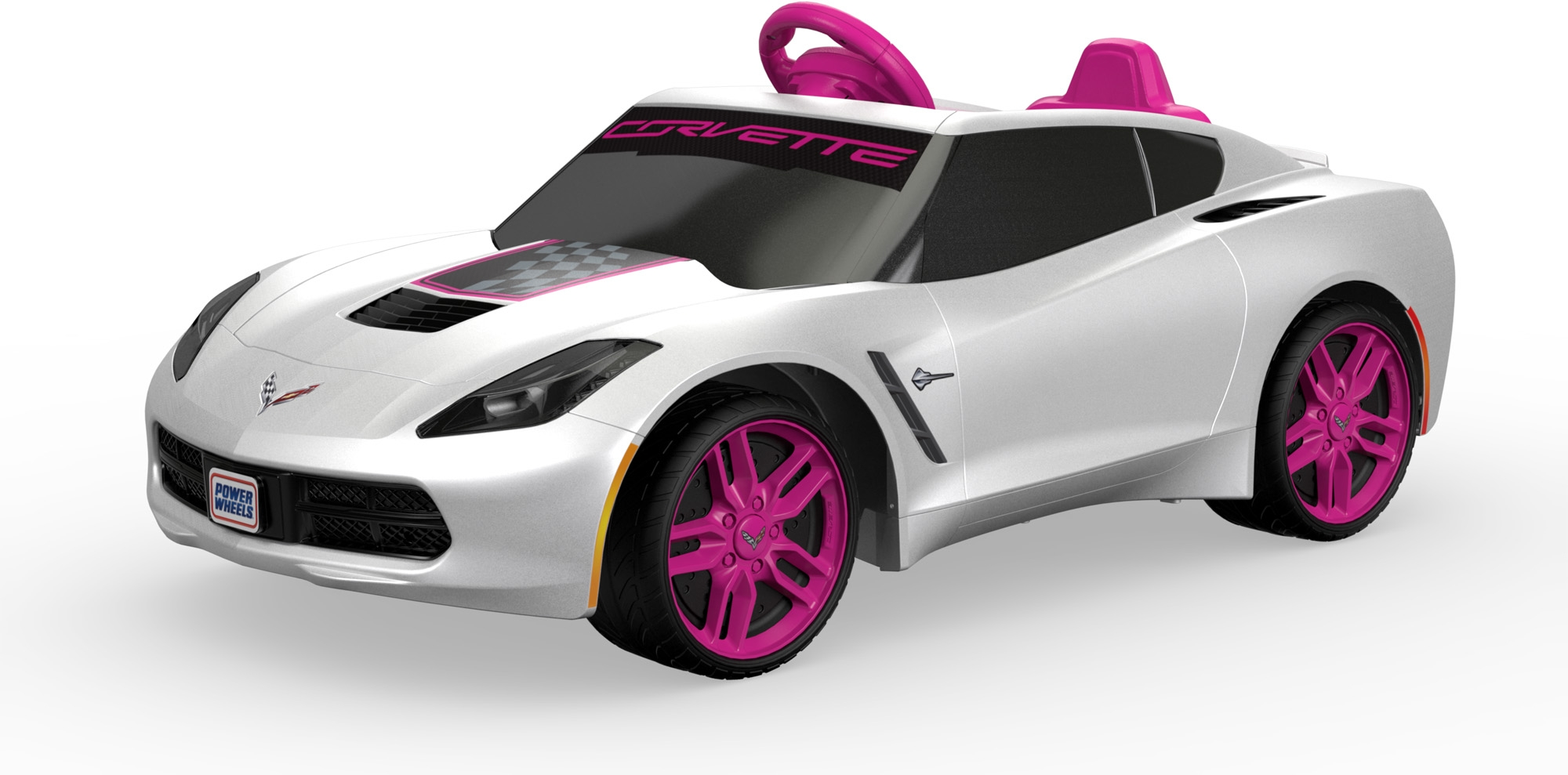 electric cars for kids ride on corvette power big wheels toddler toy play car
