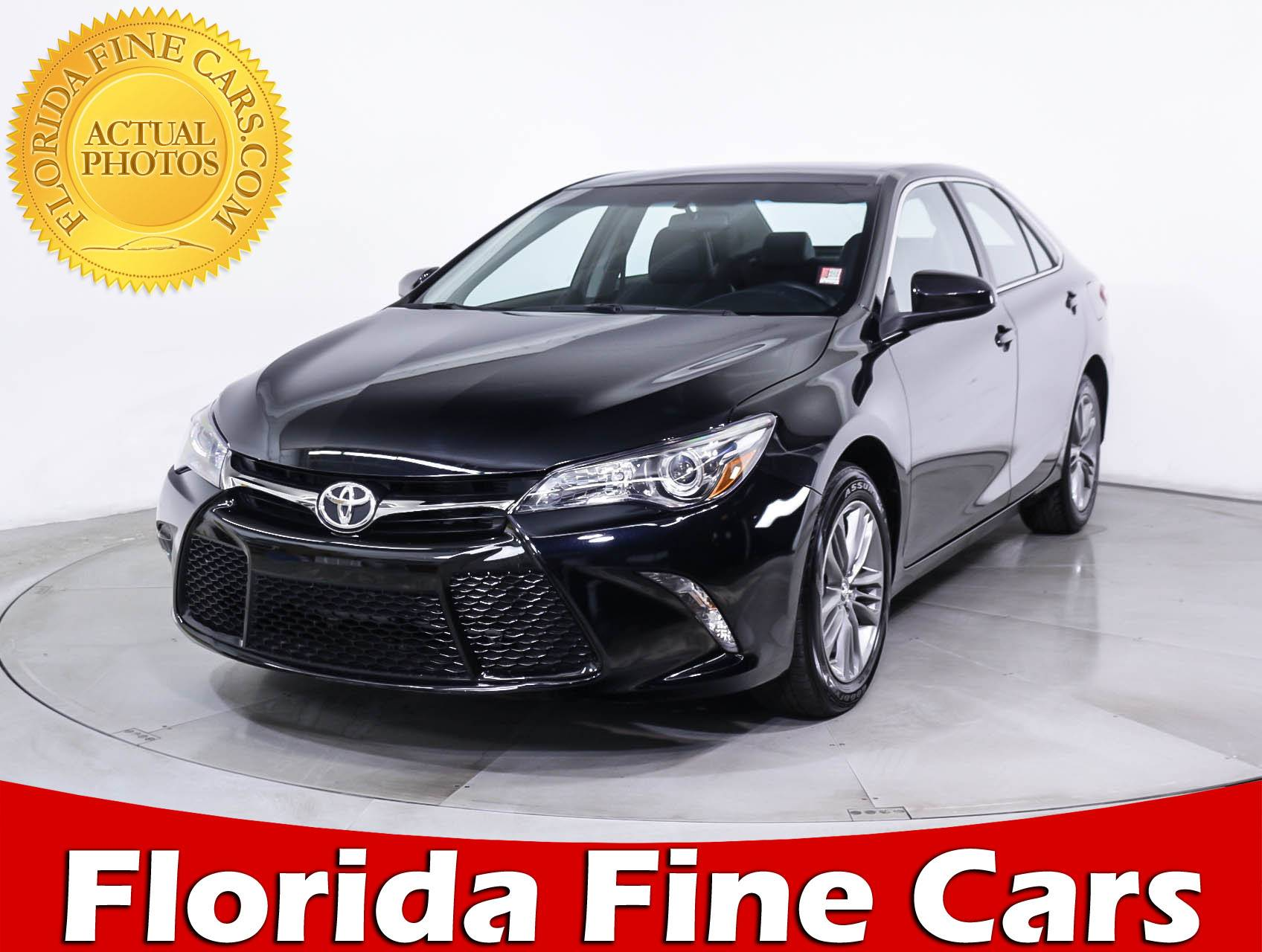 used 2017 toyota camry se sedan for sale in miami fl