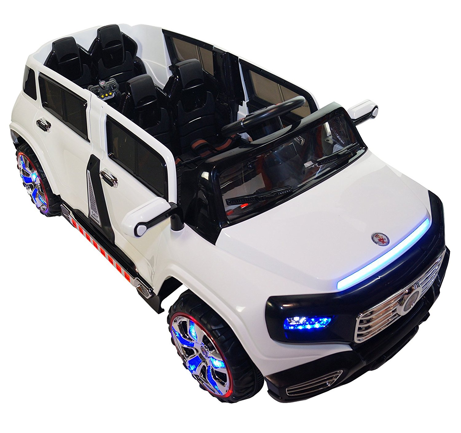 two seater ride on toy car for kids with remote control