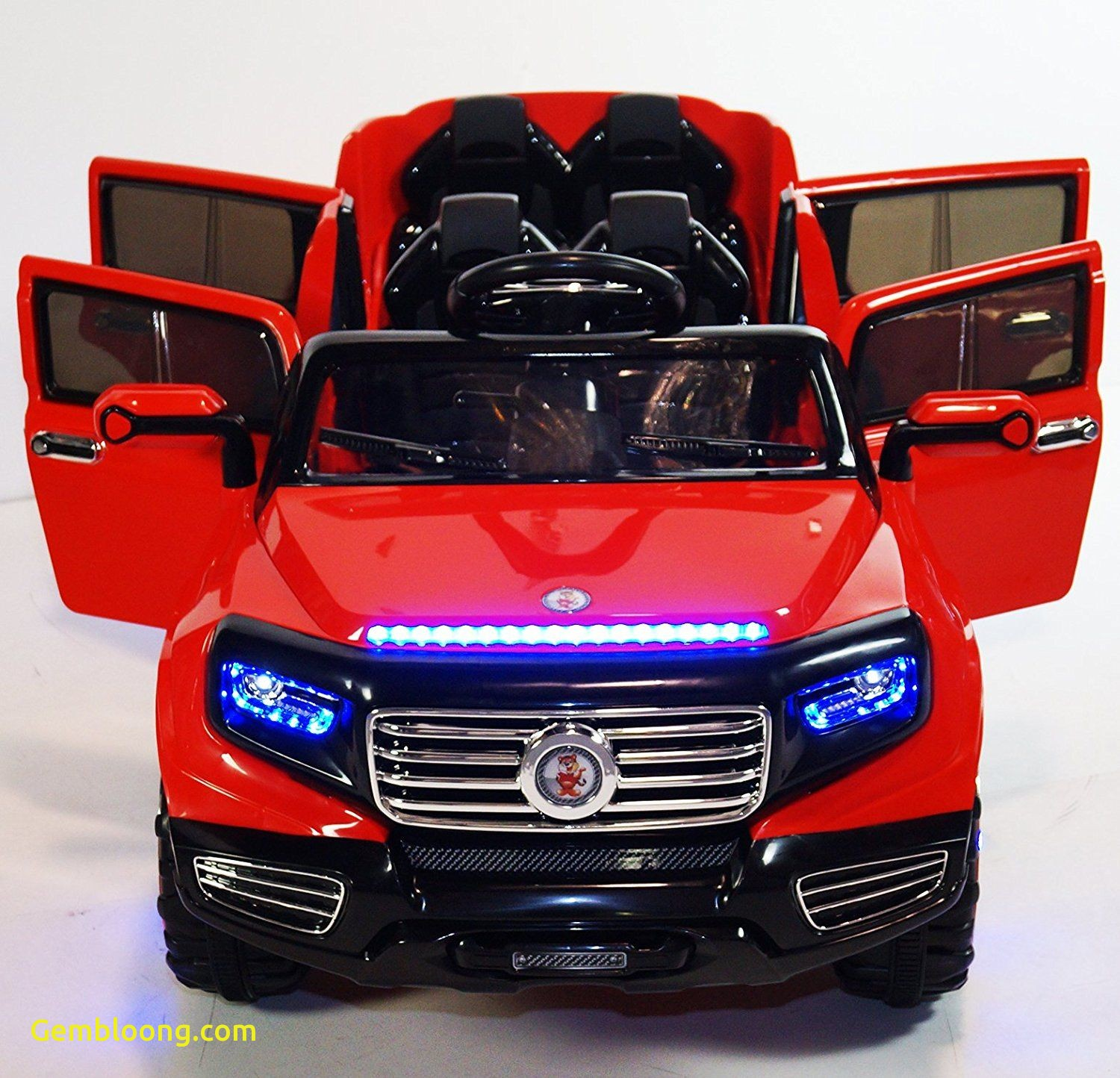 electric car 2 seater four opening doors cars girls and boys with remote control battery
