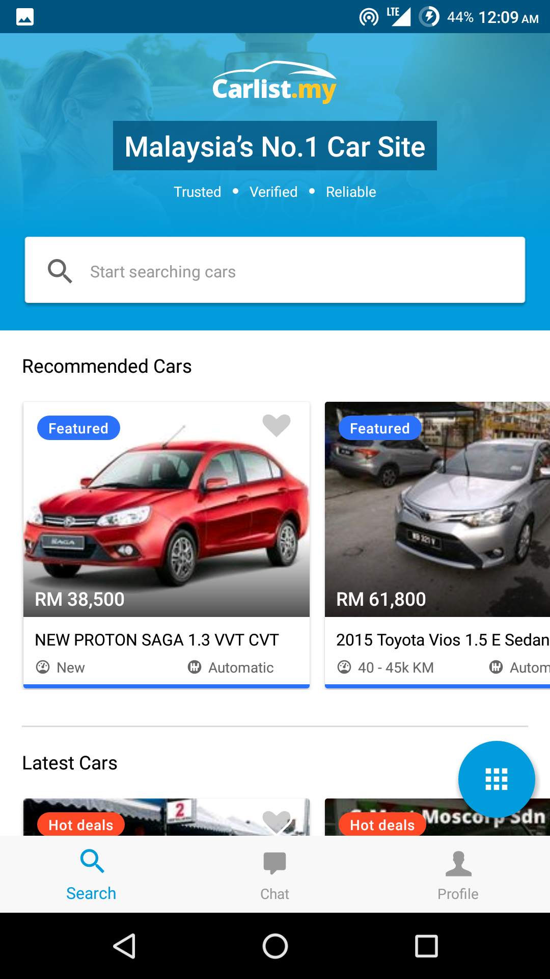 the carlist app is very simple and straightforward searching for the car of your dream is fast and easy no more wasting time and energy as everything
