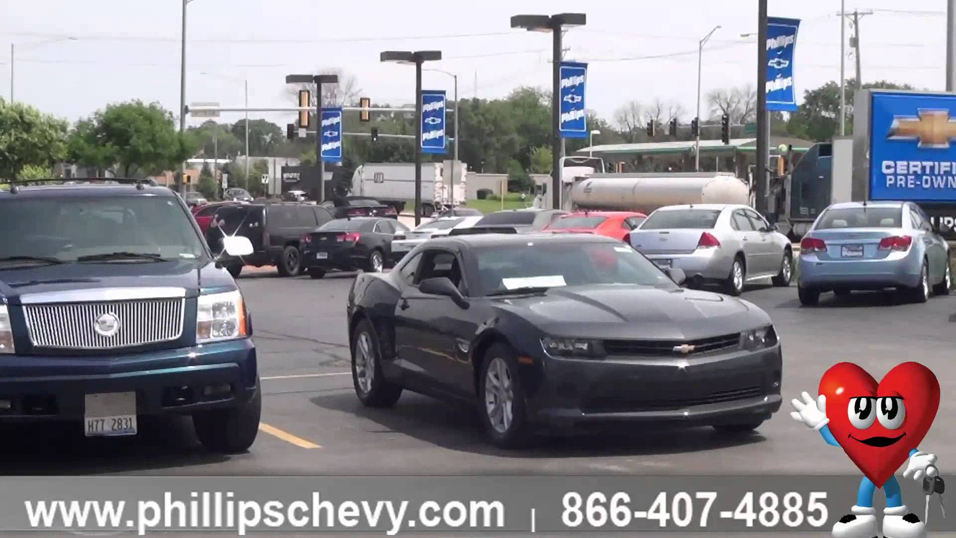 phillips chevrolet used car lot tour used car dealer sales chicago