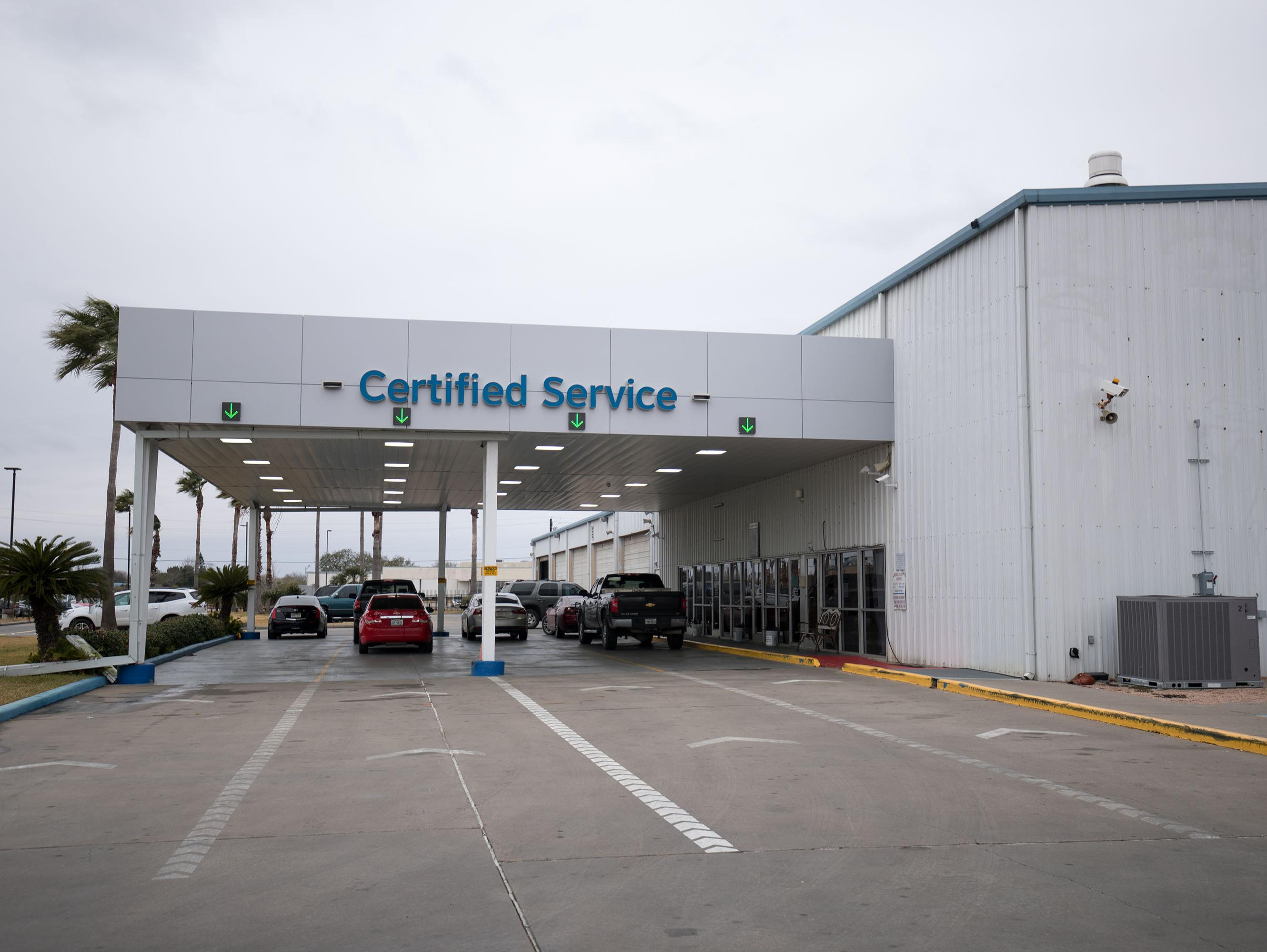 chevrolet service center in corpus christi