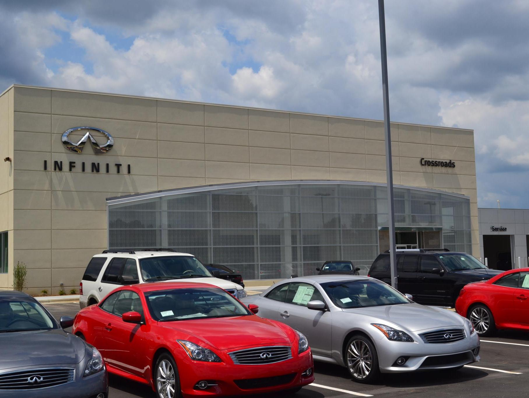 visit crossroads infiniti of raleigh