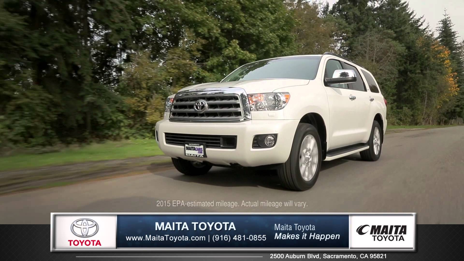 2015 toyota sequoia car review maita toyota