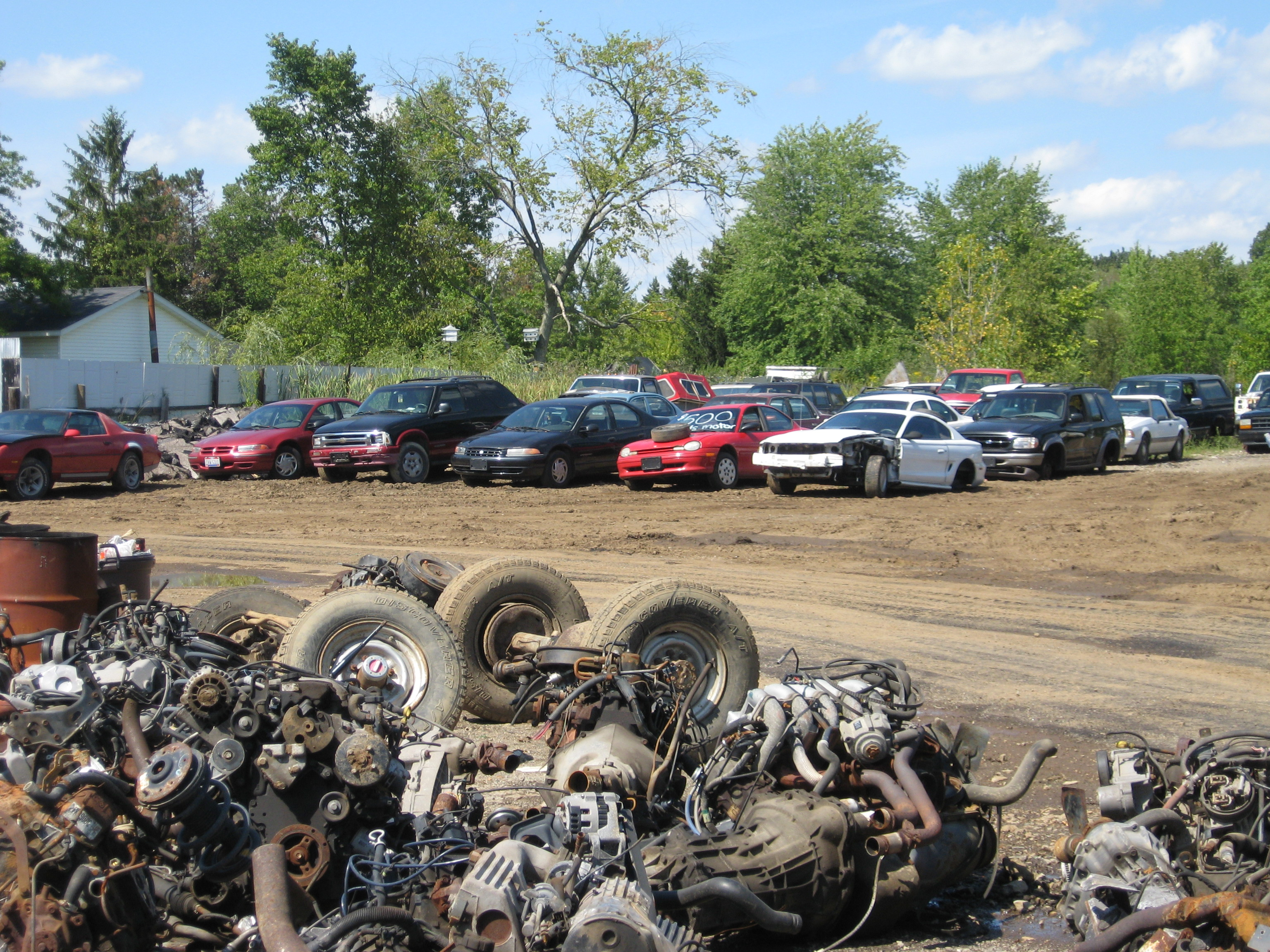 auto salvage brandon