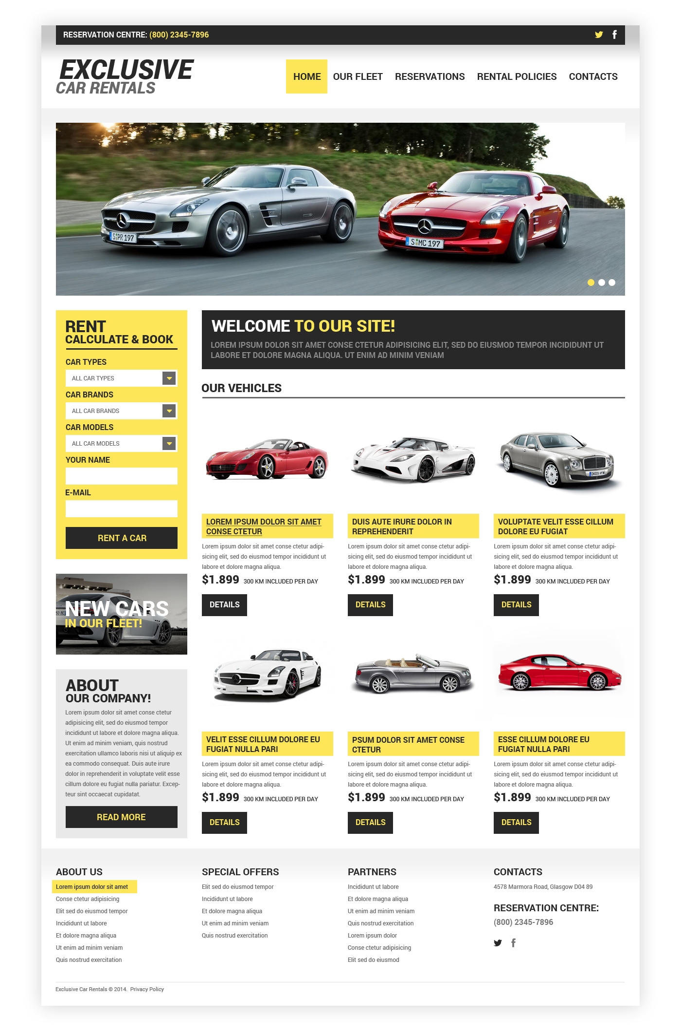 website design template rental auto dealer improvement new used certified exhibition solution market research