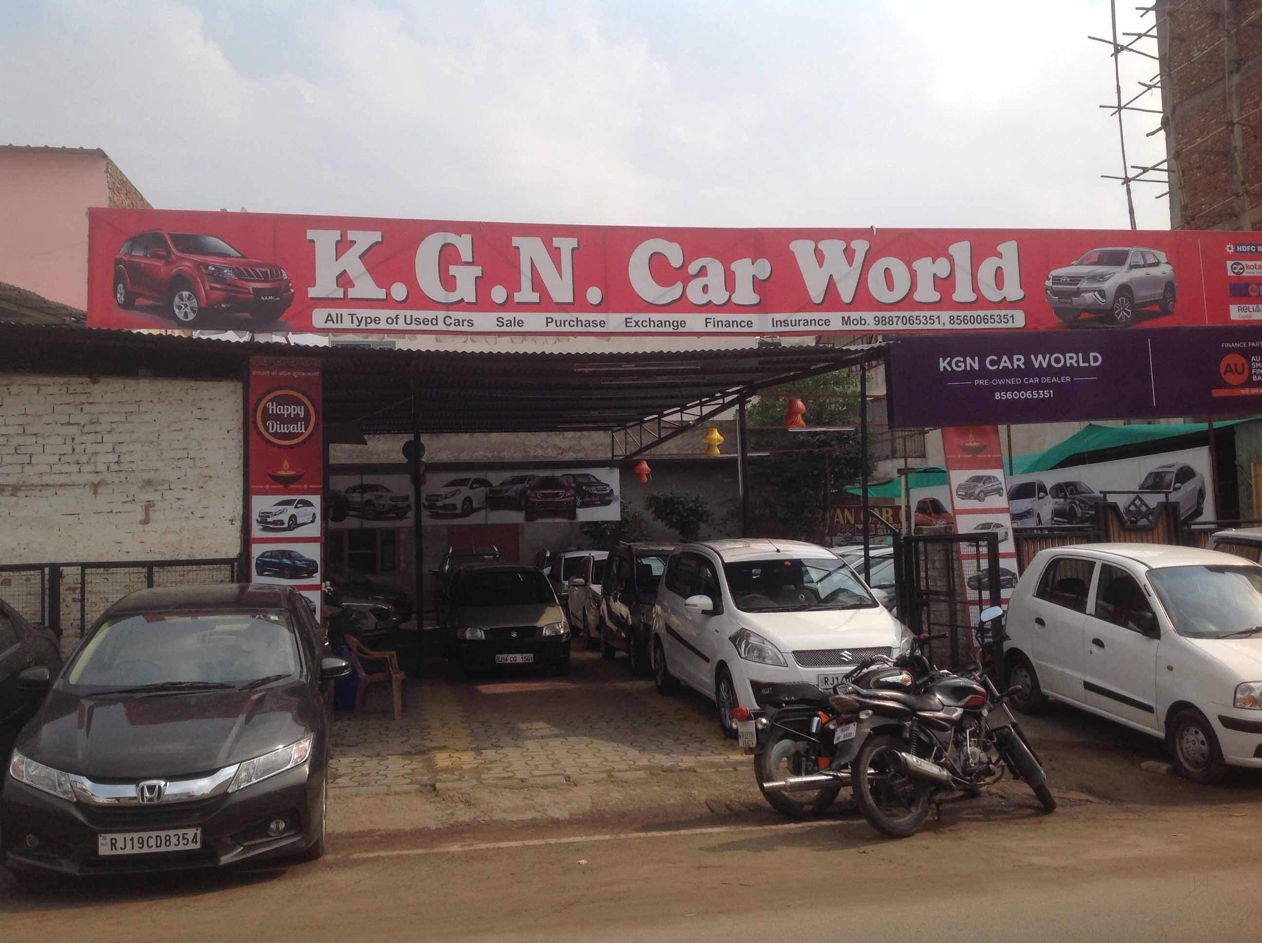 kgn car world vaishali nagar second hand car dealers in jaipur justdial