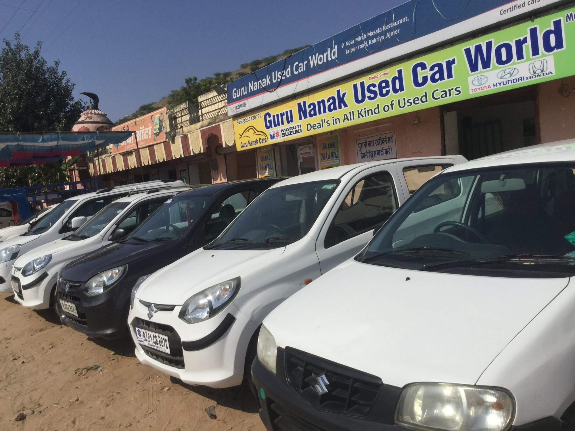 skoda second hand car ers in beawar ajmer
