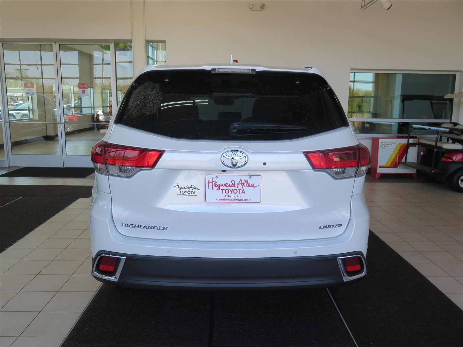 new 2018 toyota highlander limited sport utility in athens js