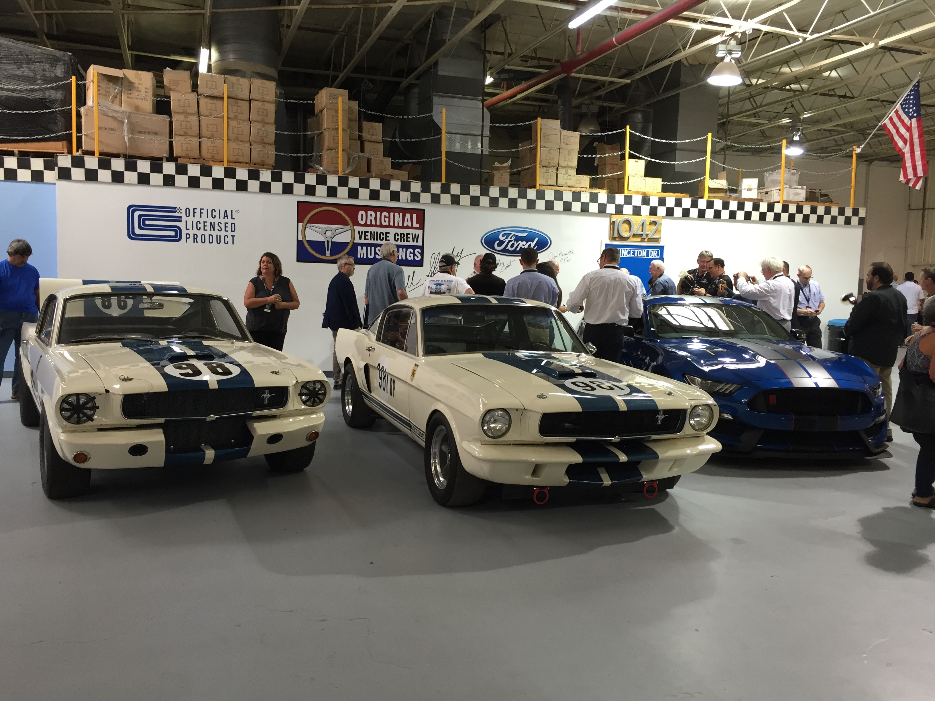 the chronology of the ri mustang