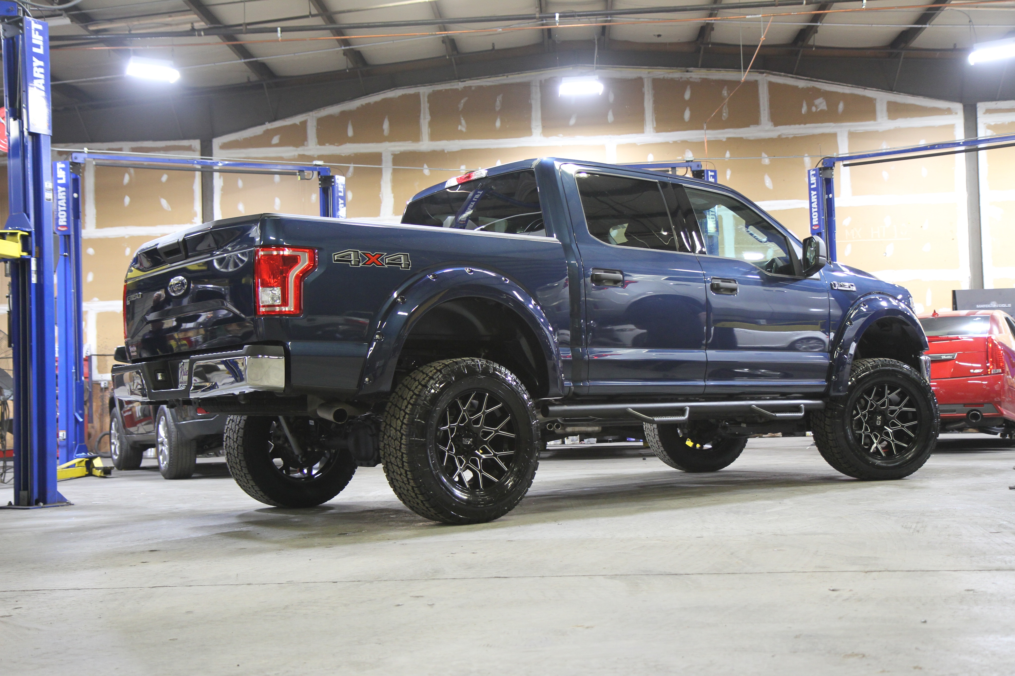 ford f 150 kmc xd831 chopstix wheels
