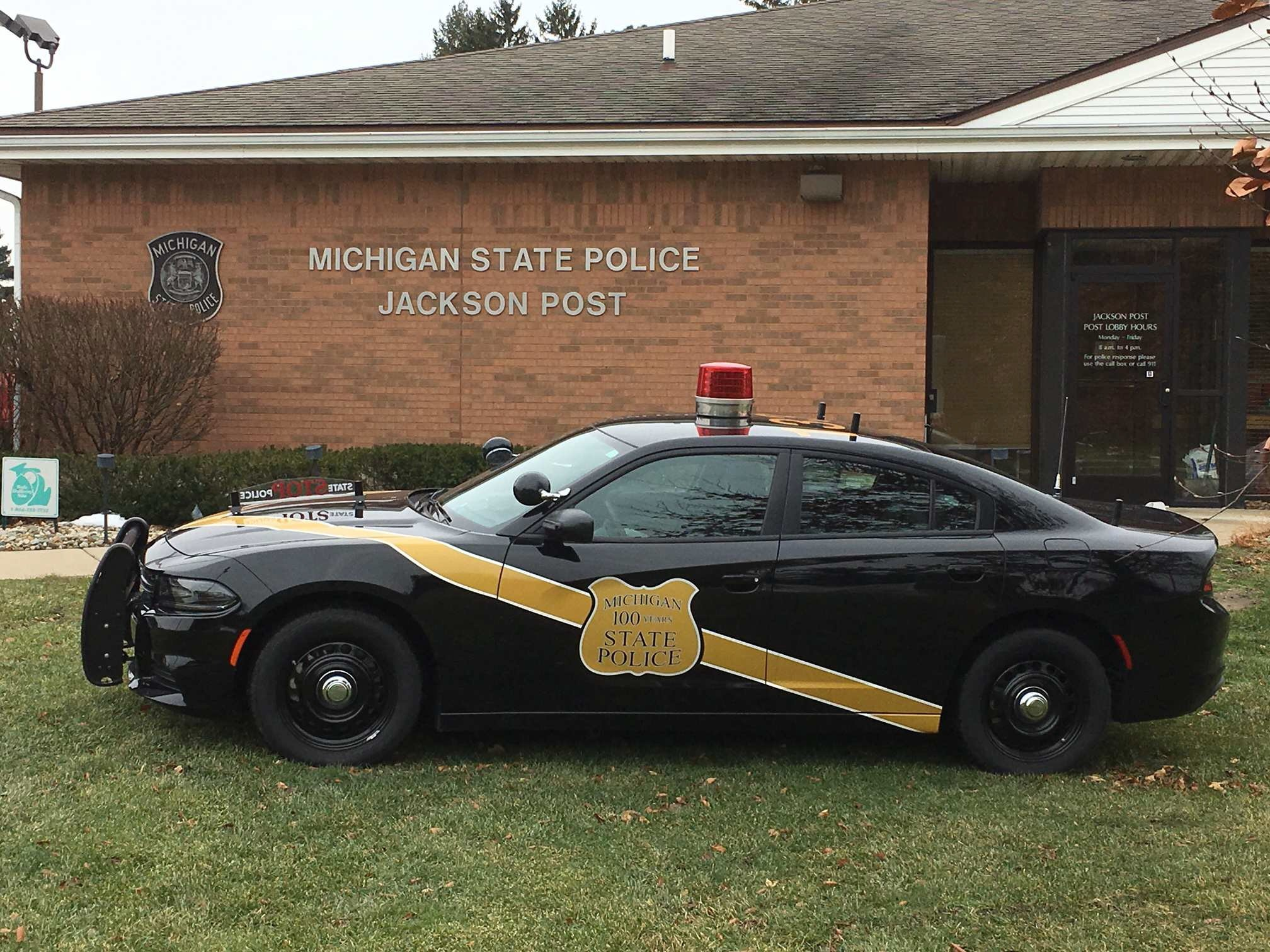 michigan state police jackson post troopers recognized for patrol and investigative efforts