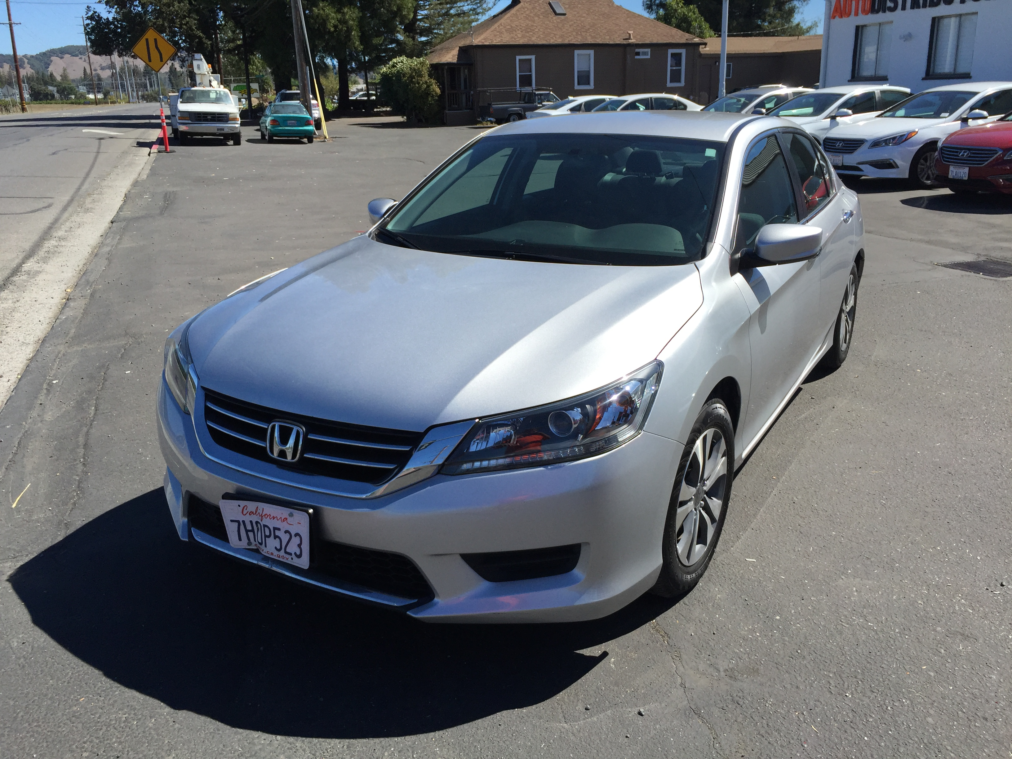 2014 honda accord silver used pre owned cars from sixt rental cars of