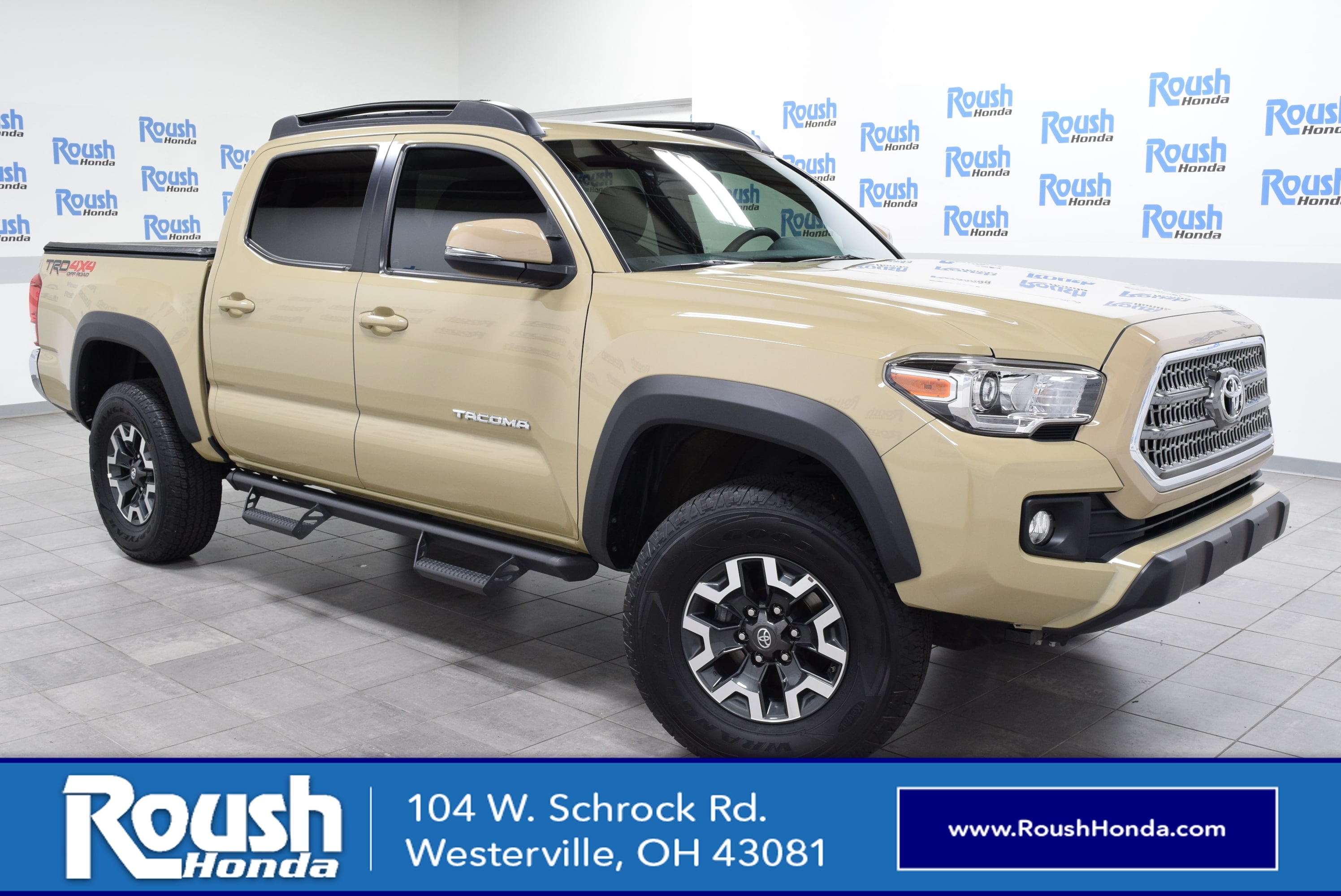2017 toyota ta a double cab v6 trd off road used cars in westerville oh