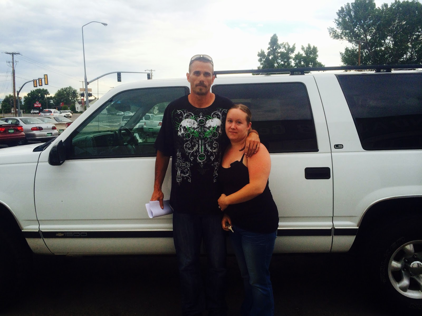 robert and samantha were referred to lucky s auto credit they came in on a whim and left in there new stylish ride they were so happy they stopped by and