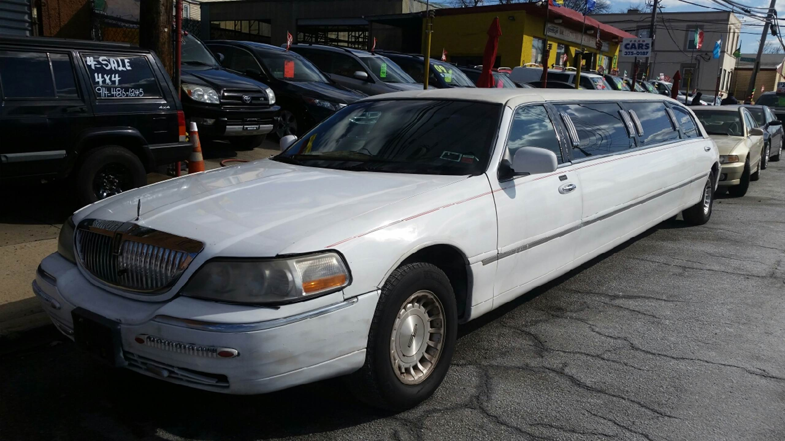 2000 lincoln town car for sale in yonkers ny