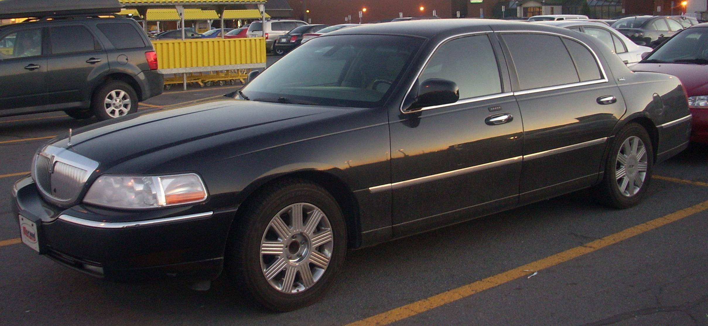file lincoln town car cartier l