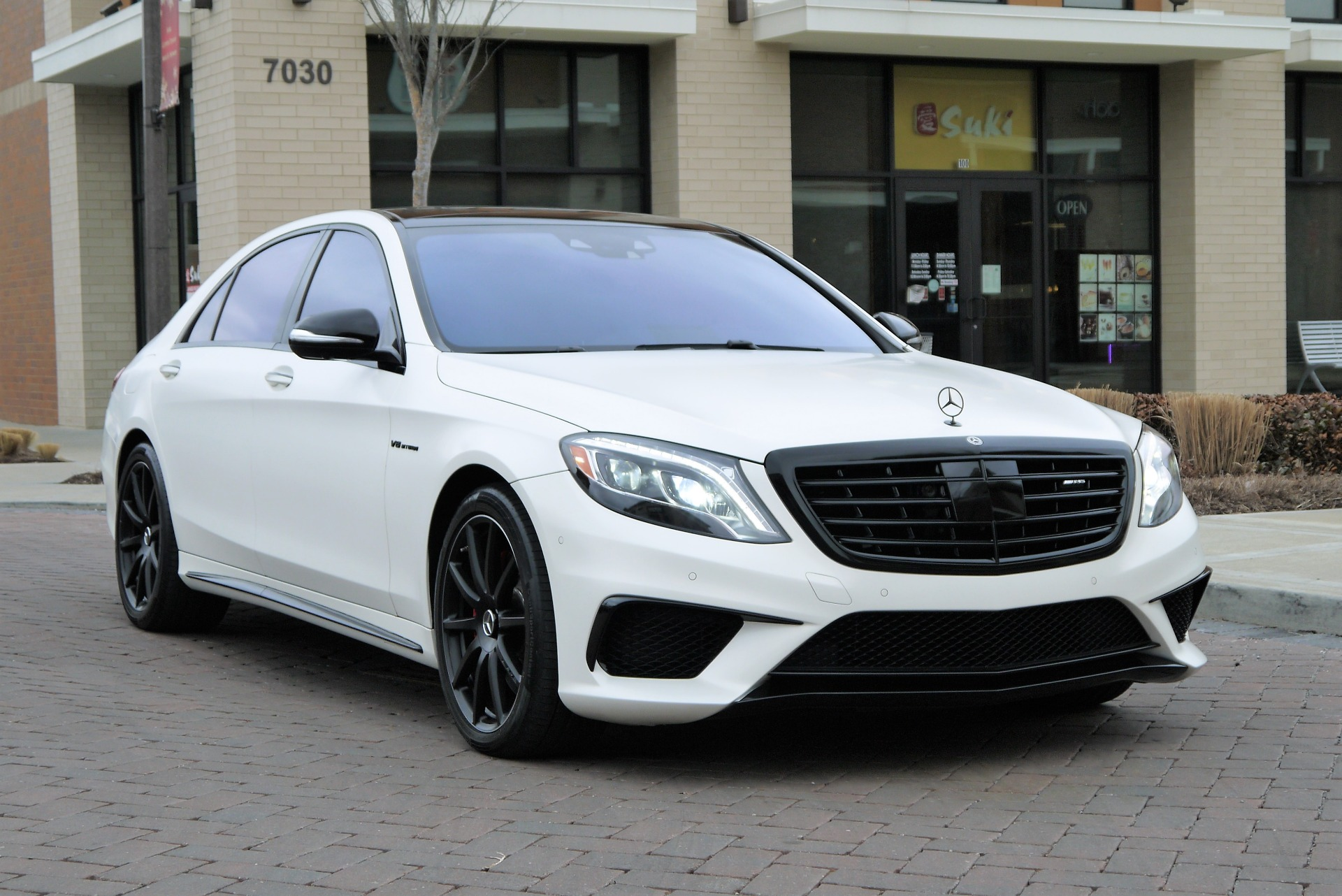 used 2017 mercedes benz s class amg s 63 awd 4matic 4dr sedan