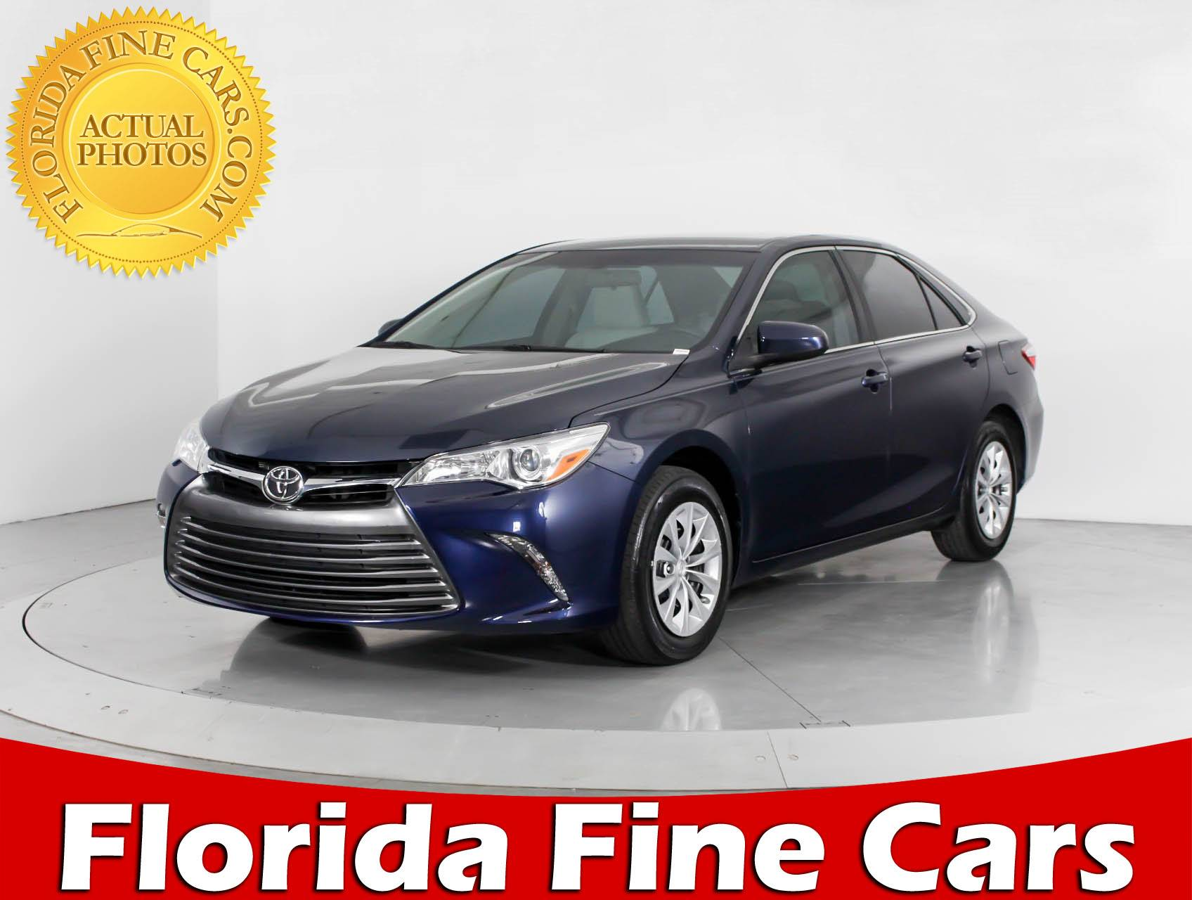 used 2016 toyota camry le sedan for sale in hollywood fl