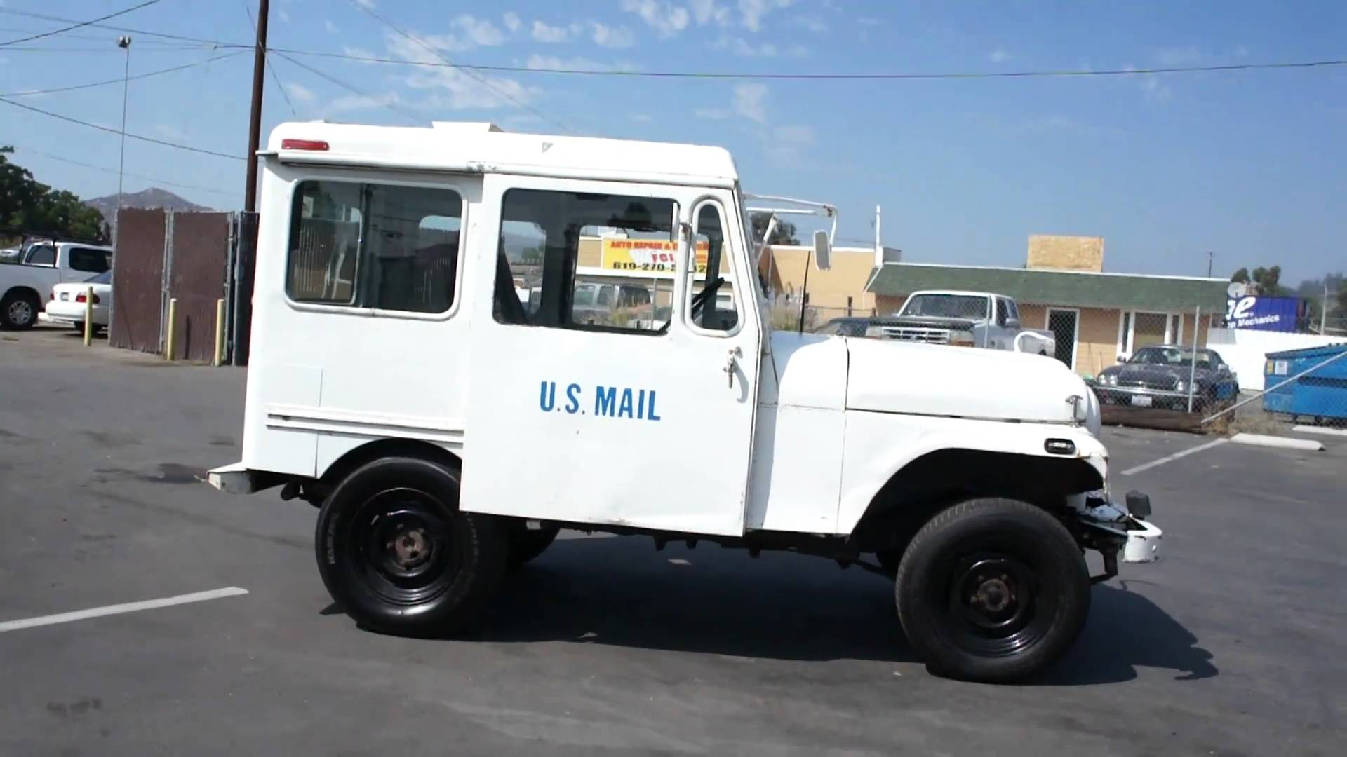 Vehicles for Sell Inspirational 77 Us Mail Postal Jeep Amc Rhd Nice Rmd Truck for Sale Youtube