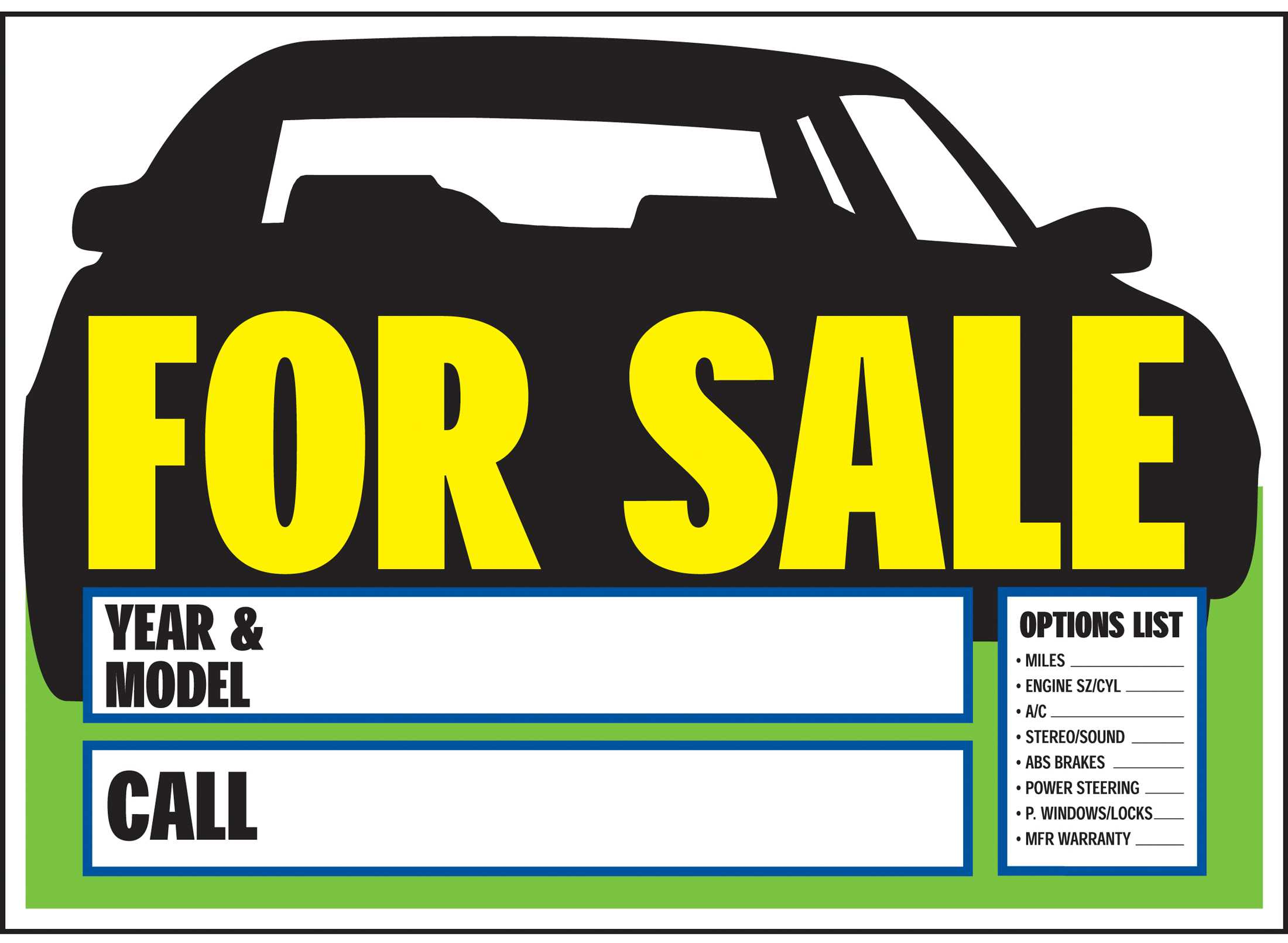 car for sale template 3