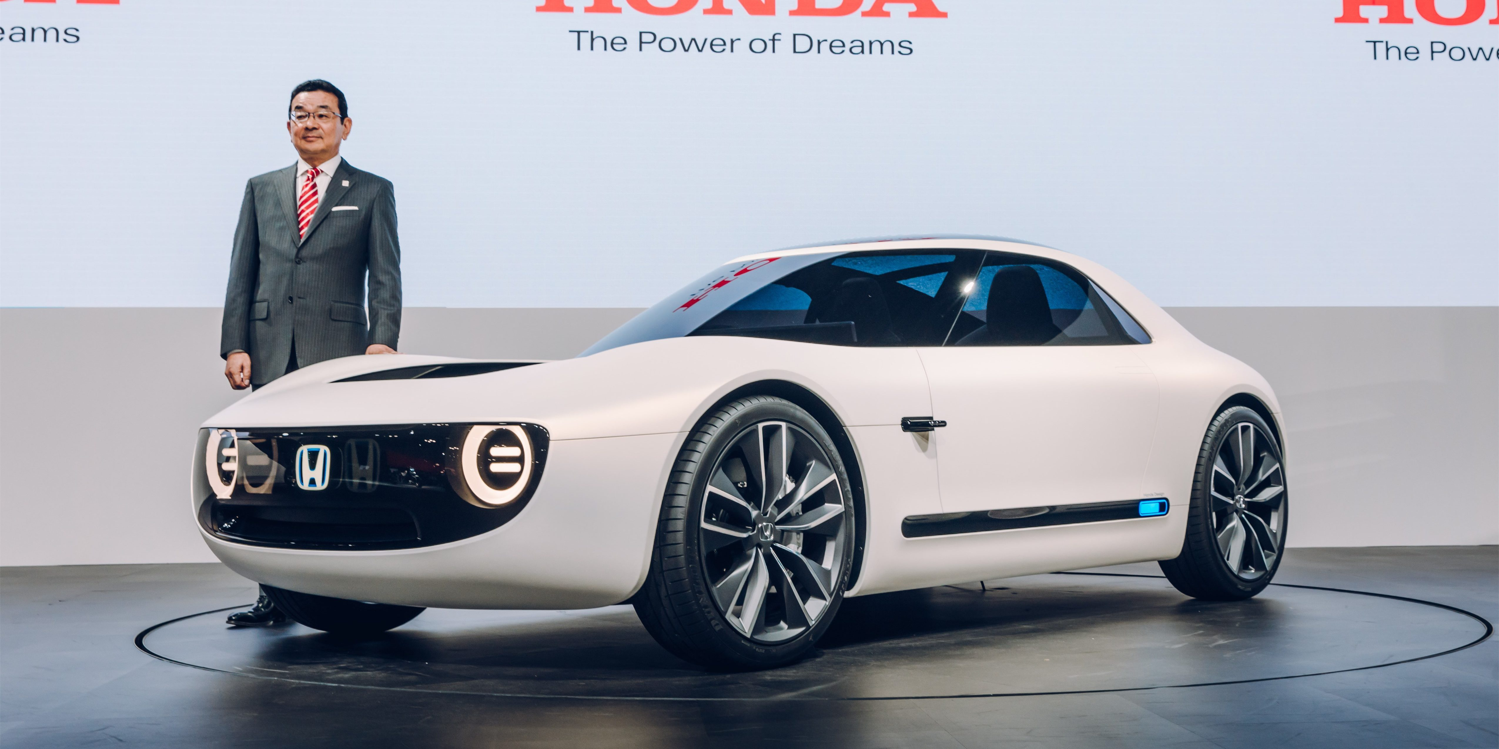Car Sites Inspirational Honda Unveils All Electric Sports Car Concept Based On New Electric
