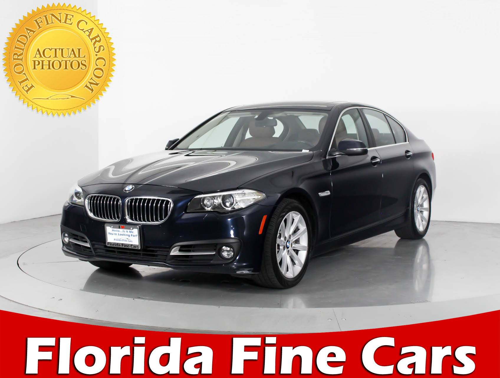 used 2015 bmw 5 series 535i xdrive sedan for sale in west palm fl