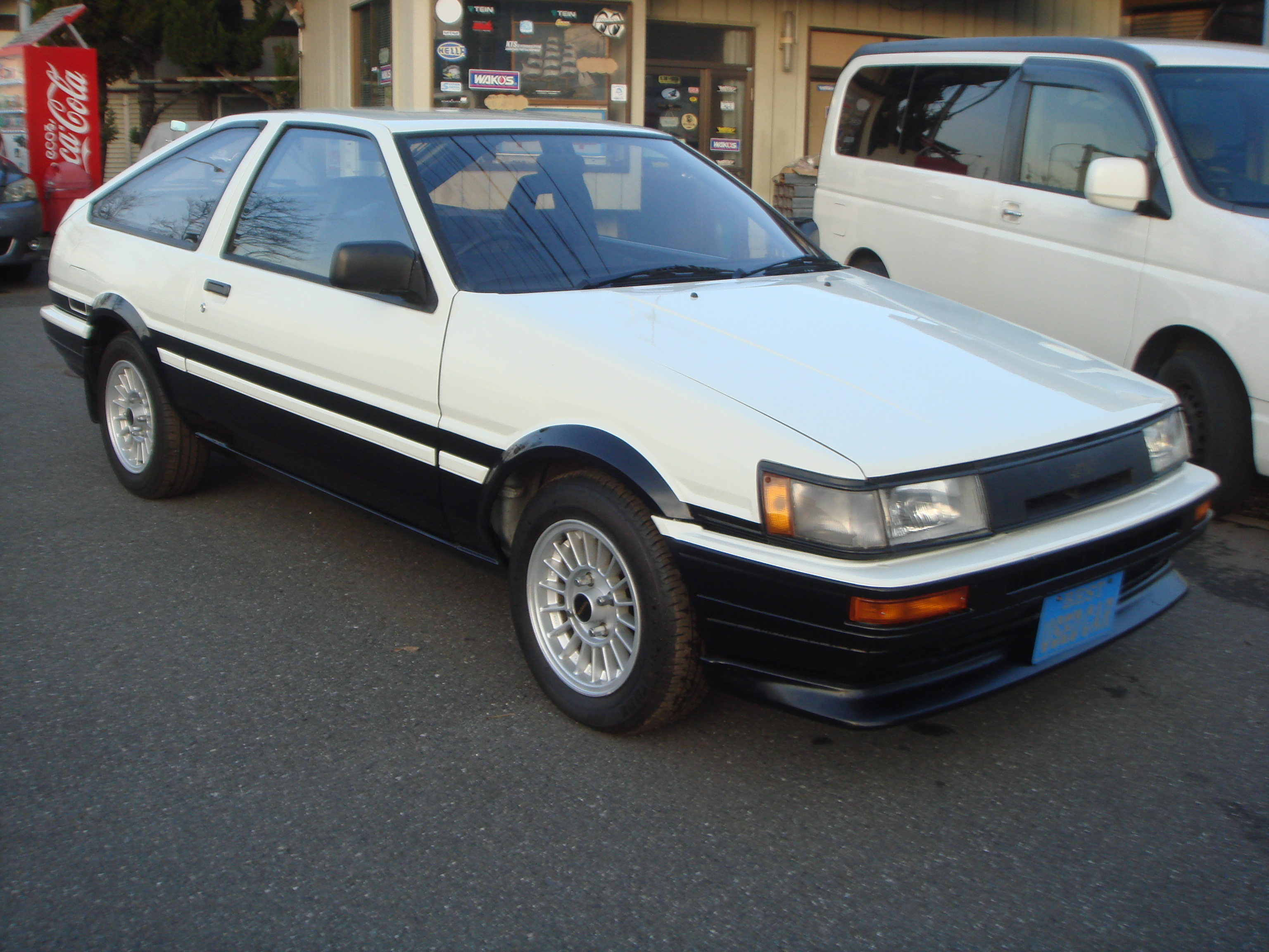 1985 year toyota levin coupe ae86 gt apex twin cam