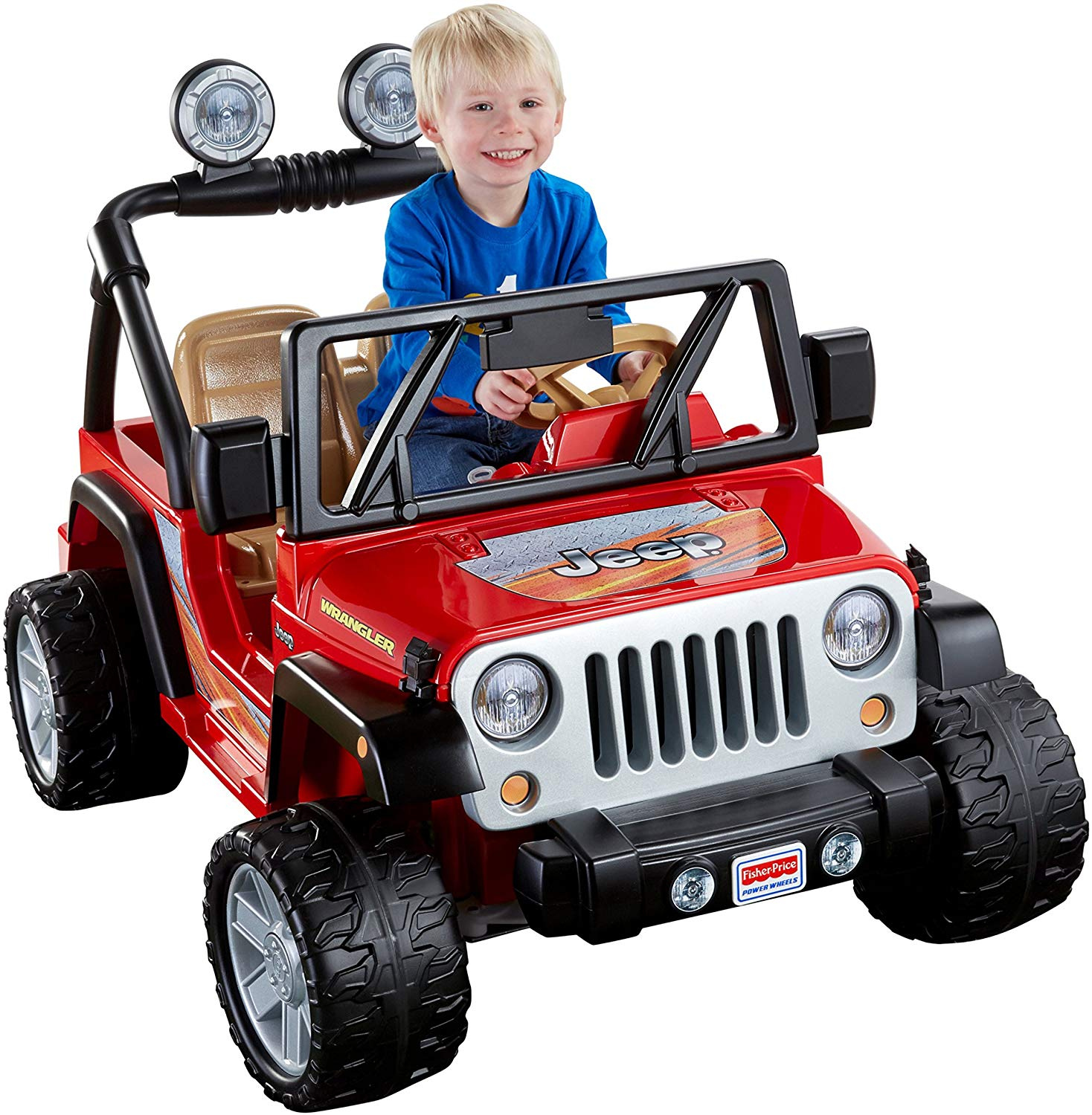 Motorized Ride On toys Lovely Power Wheels Jeep Wrangler Red toys Games