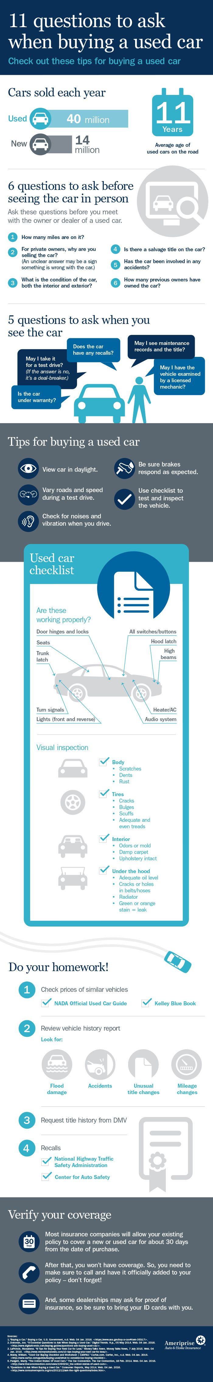 Questions to ask when Buying A Used Car Best Of This Infographic Explains the 11 Questions to ask when Ing A Used