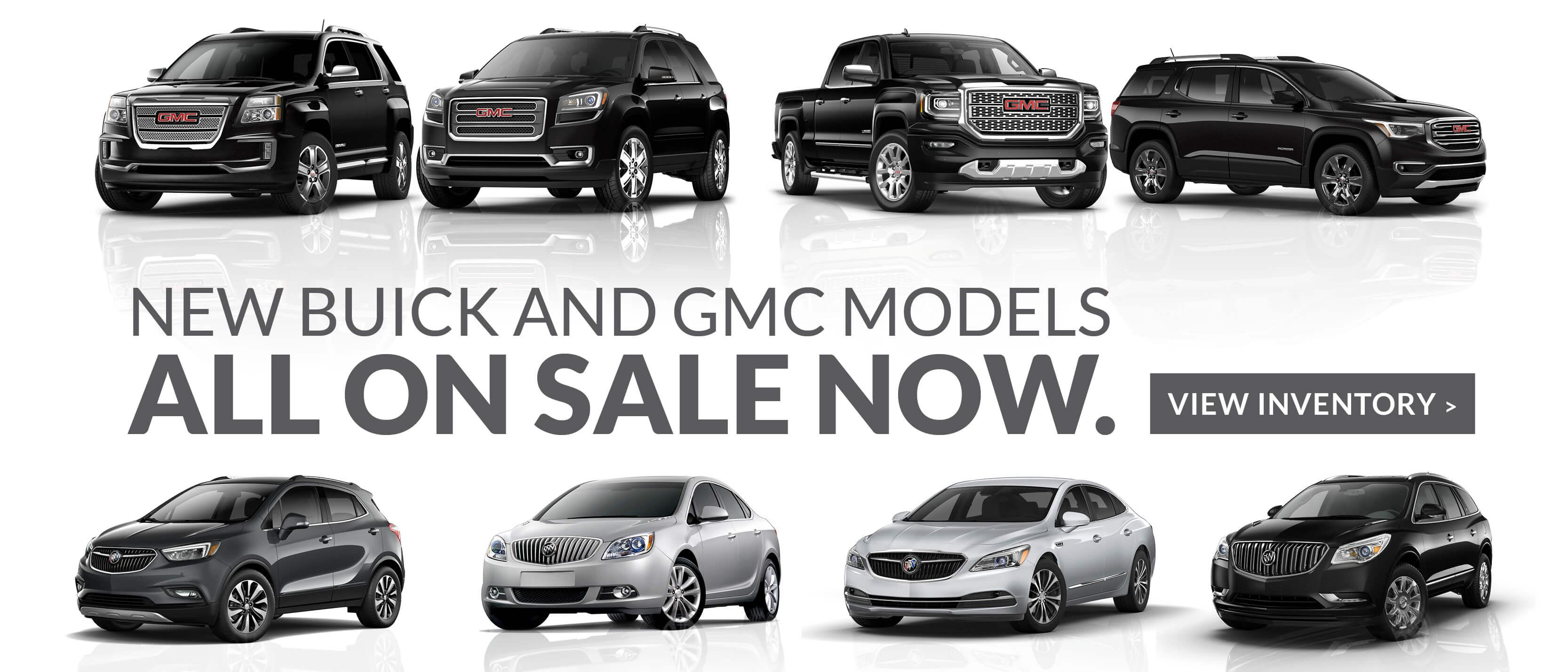 view our inventory of buick and gmc vehicles