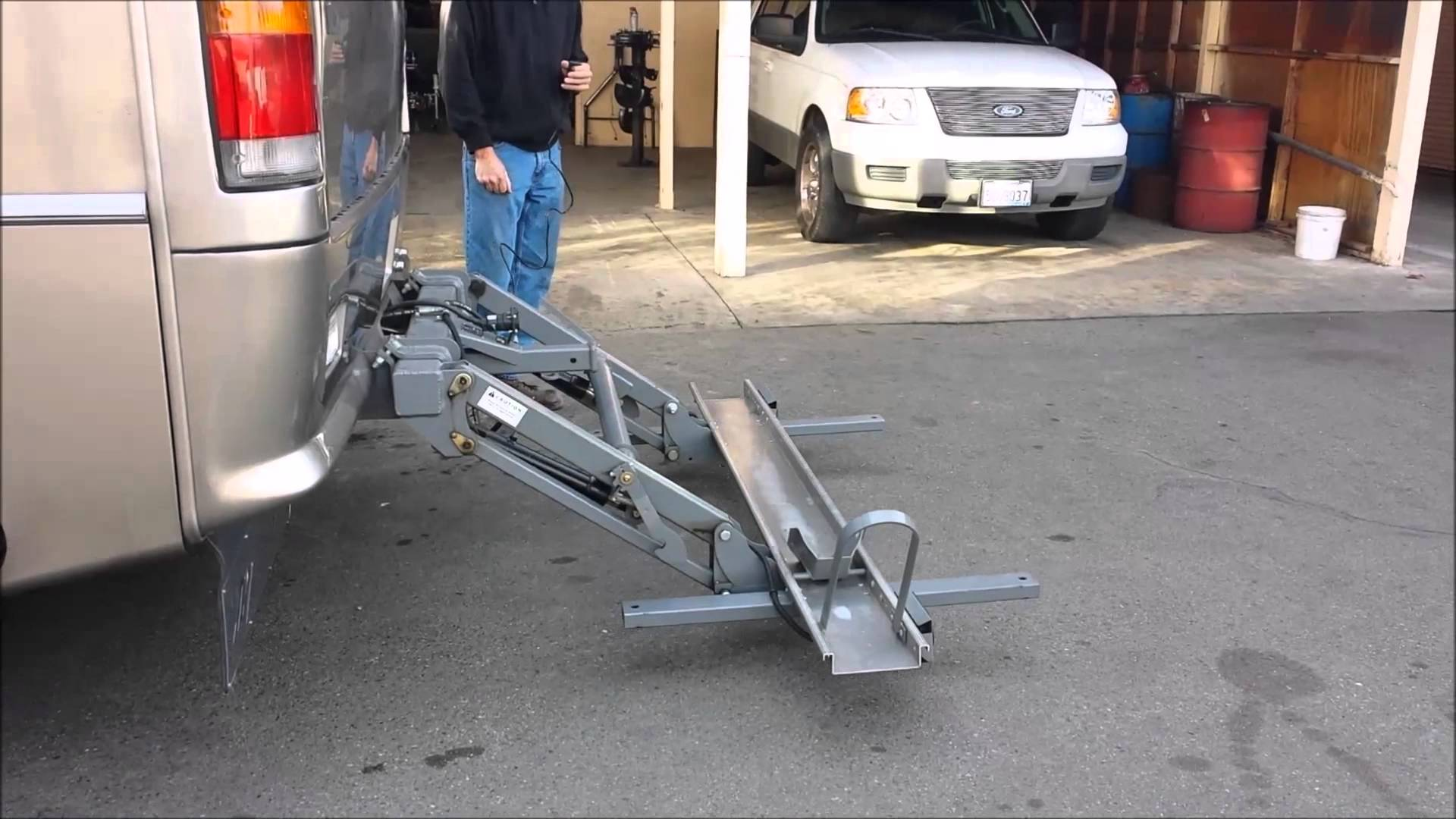 Used Car Lifts for Sale Craigslist Lovely Hydra Lift Hydraulic Motorcycle Lift for Sale Used Youtube