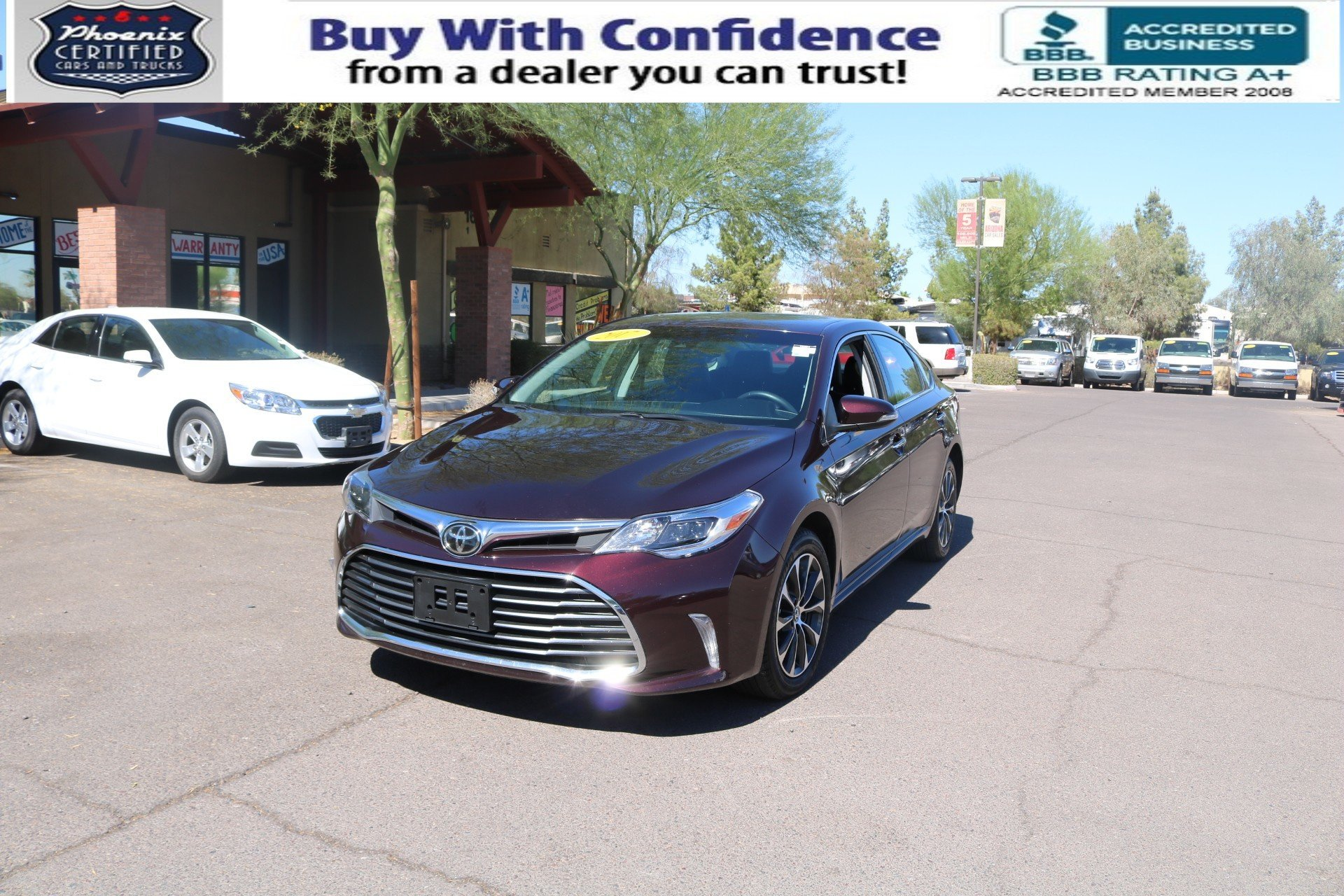used 2017 toyota avalon in mesa arizona