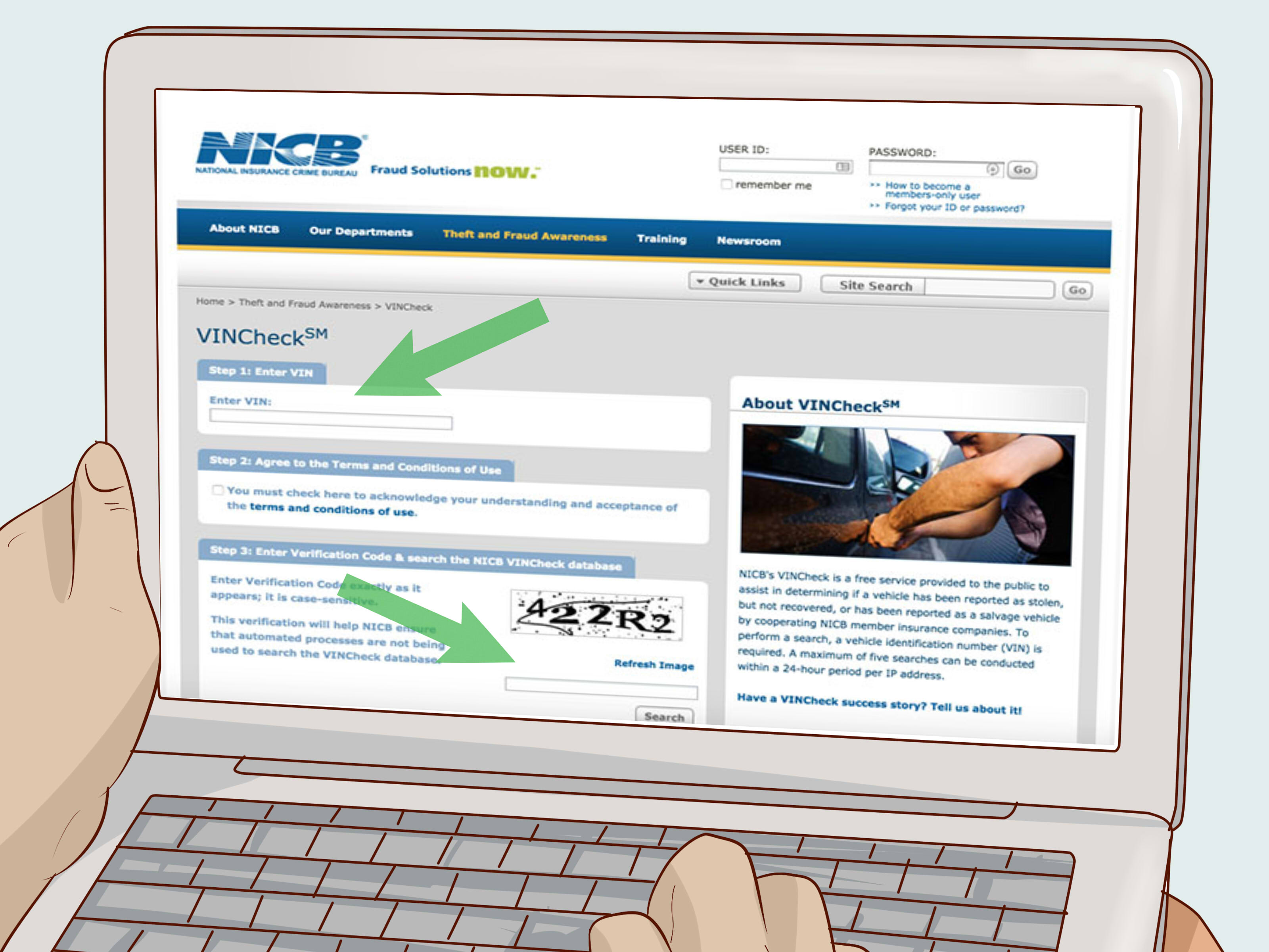 how to check vehicle history for free