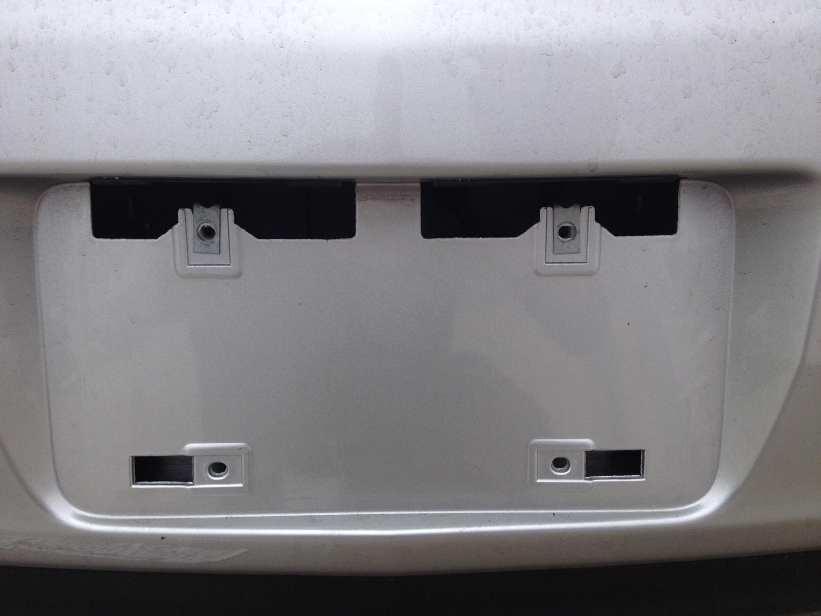 Carfax Plate Beautiful 2013 Acura Tl Am I Missing A License Plate Bracket Acurazine