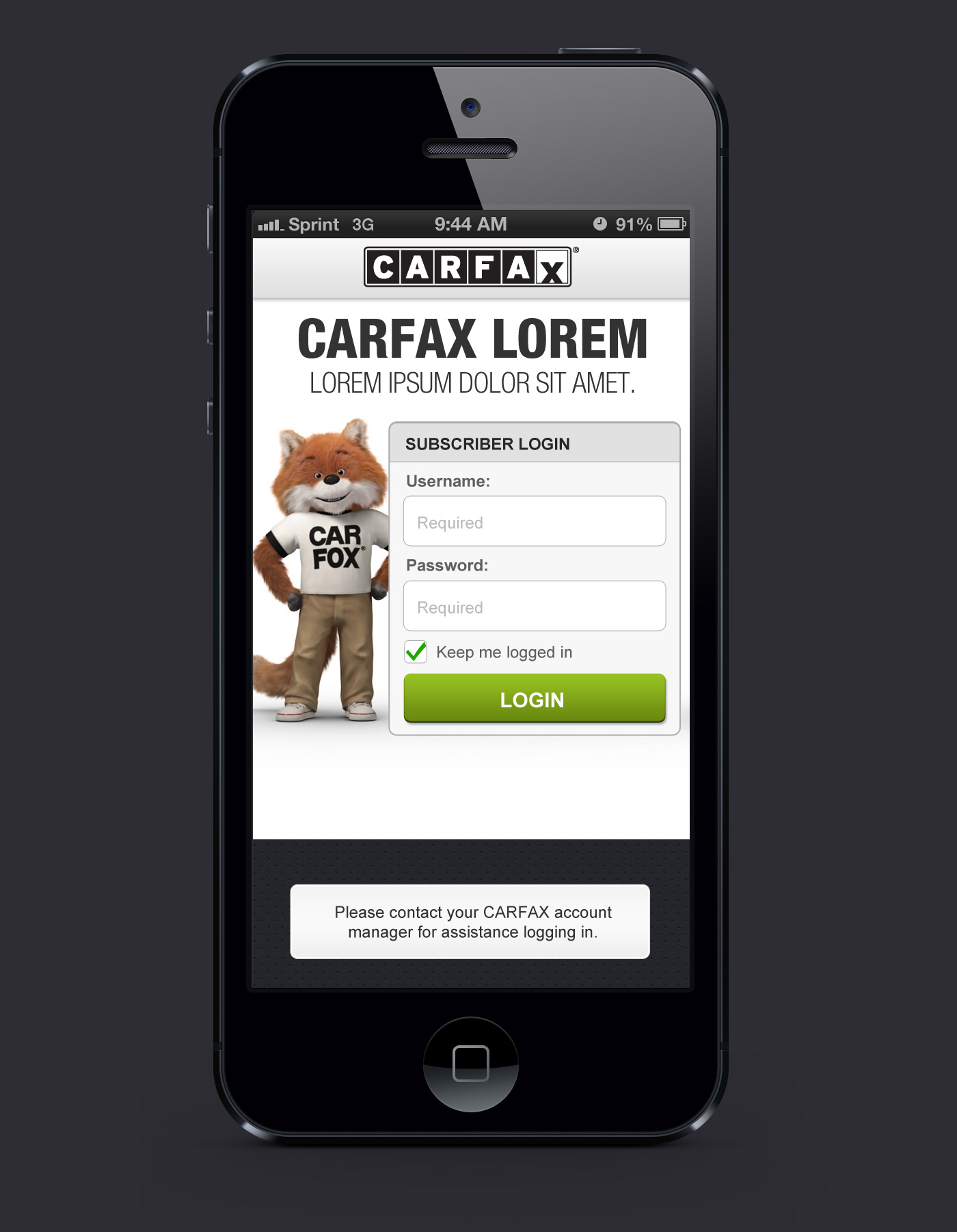 Carfax Sign In New Carfax Mobile App for Dealers Vin Scanner On Behance