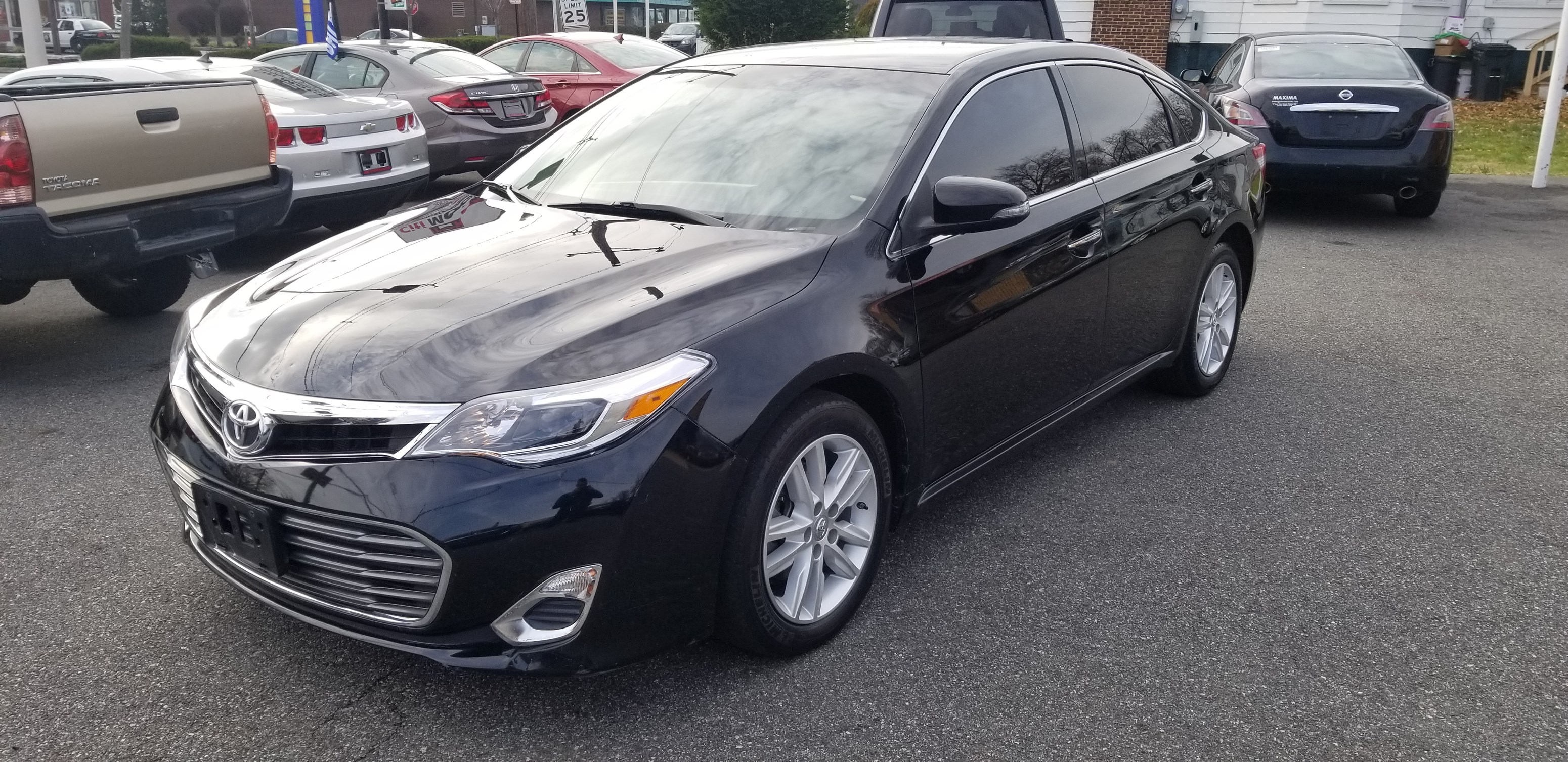 2015 toyota avalon xle 3 5l v6 clean carfax 1 owner under warranty back up camera bluetooth leather w heated seats