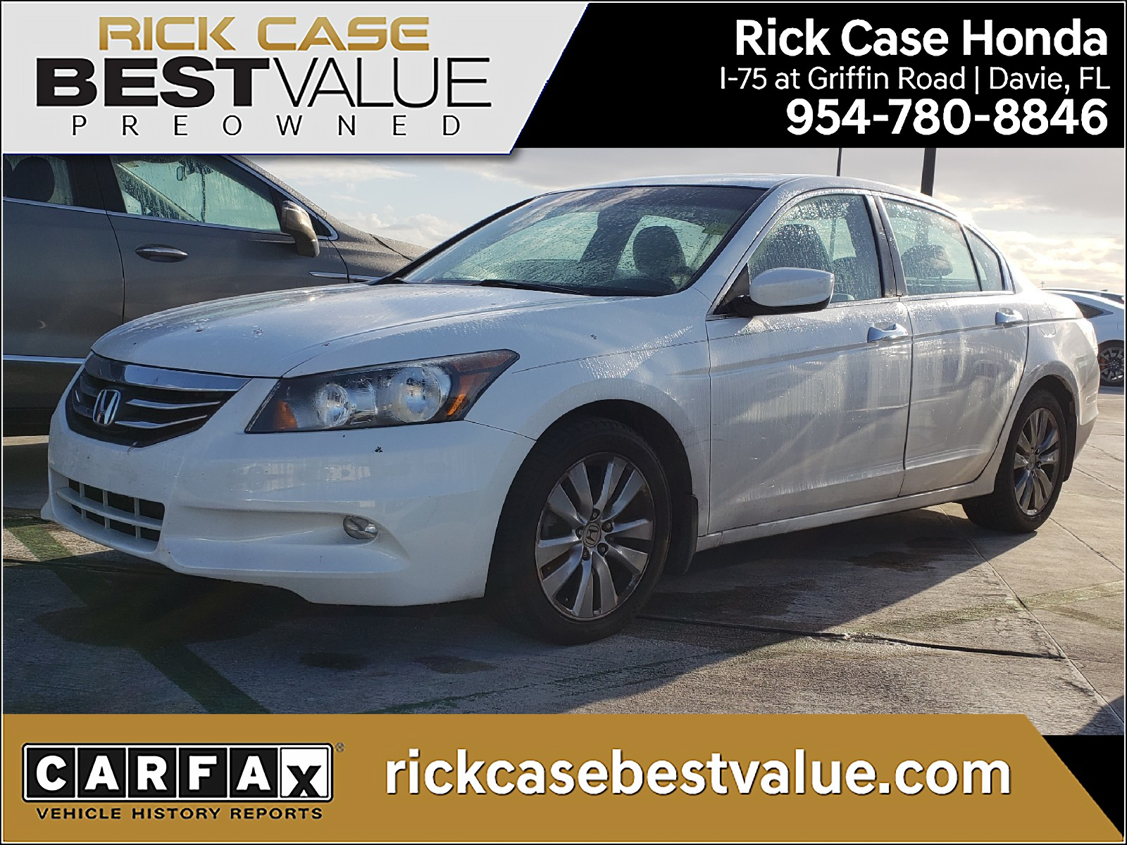 used 2011 honda accord ex l for sale in miami fl
