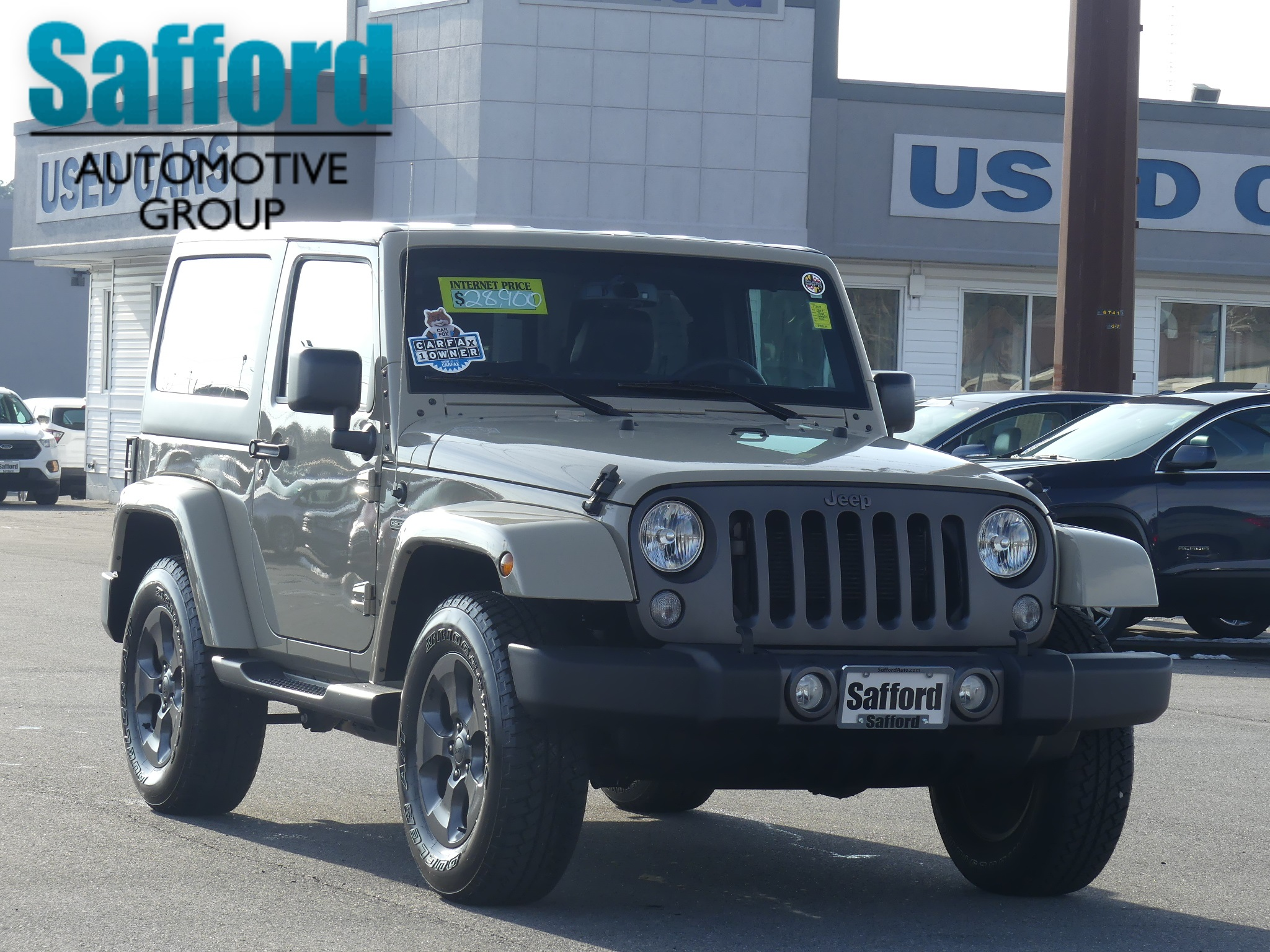 Carfax Used Cars Under 2500 Best Of Pre Owned 2017 Jeep Wrangler Freedom Convertible In Springfield